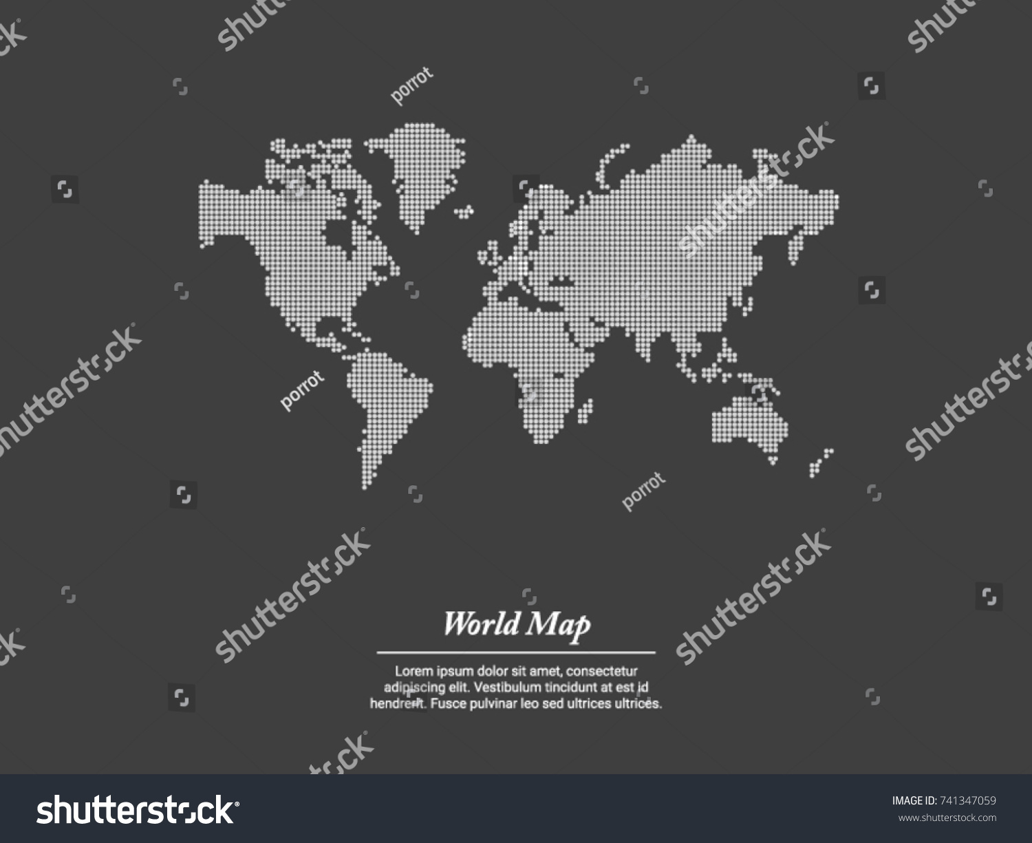 Best popular world map vector globe vectores en stock 741347059 best popular world map vector globe template for anything world wide website design gumiabroncs Images