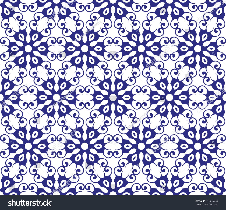 Abstract Seamless Geometric Pattern Vector Illustration Stock Vector