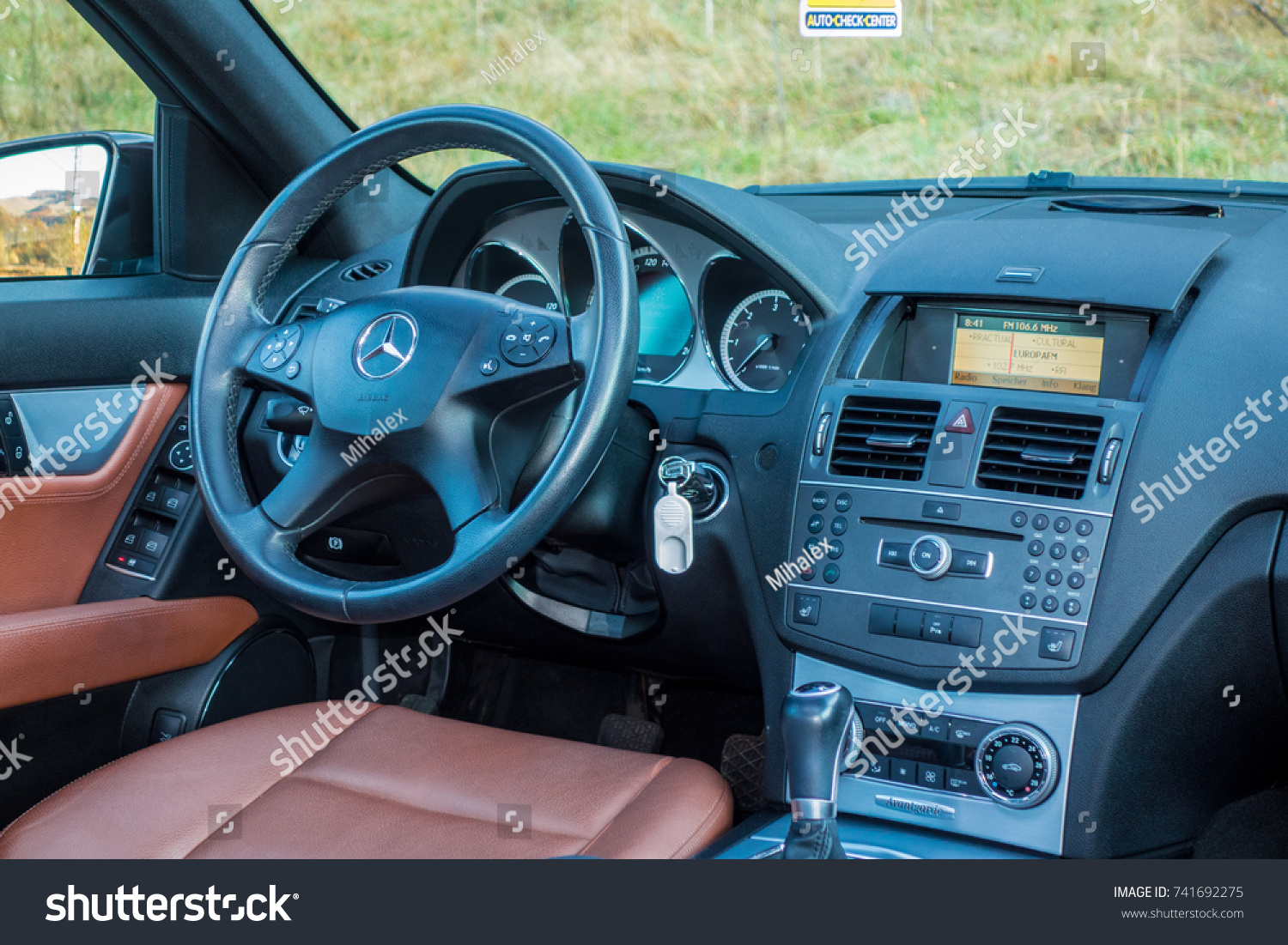 Cluj Napocaromania Octomber 20 2017 Mercedes Stock Photo (Edit Now