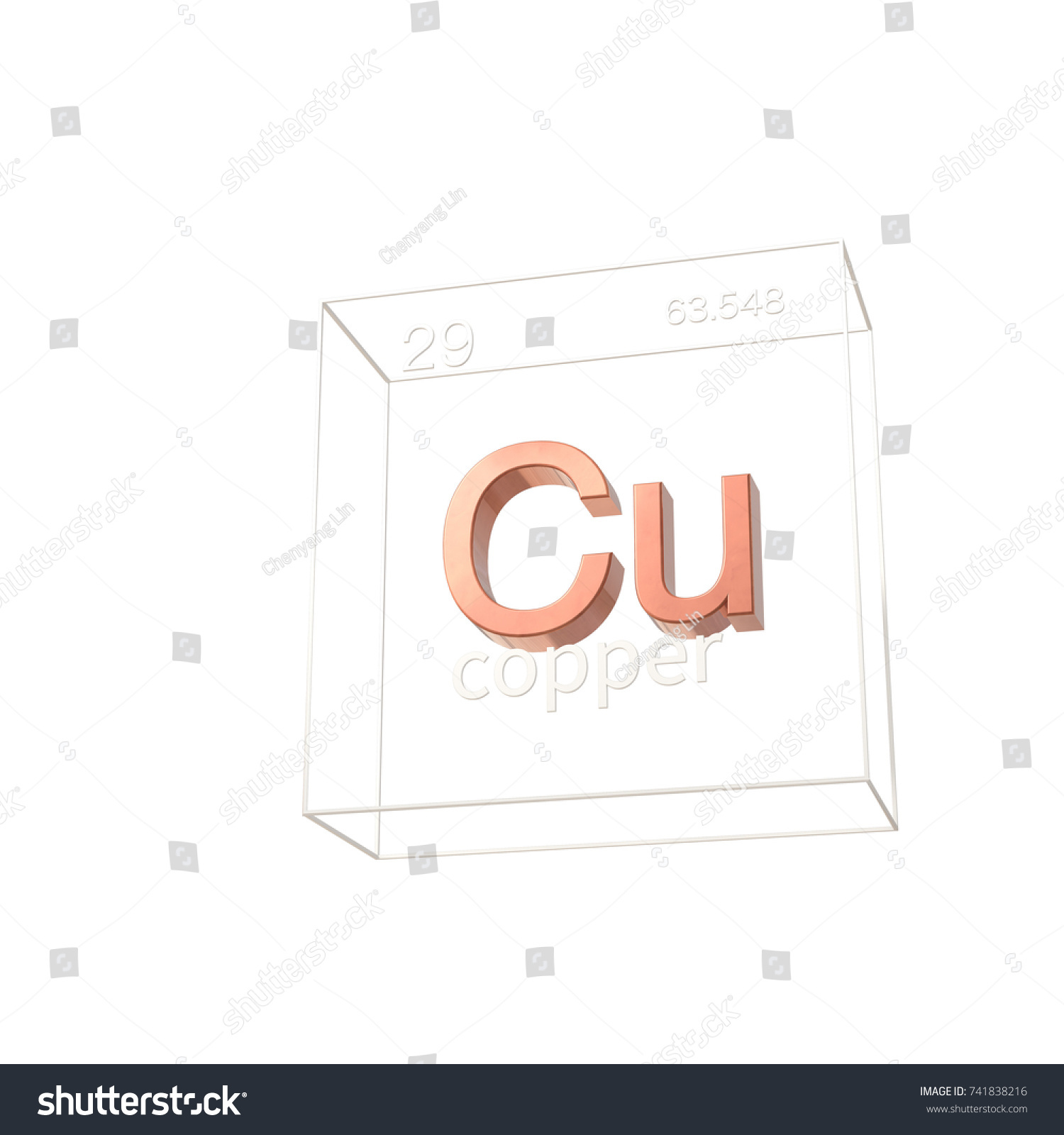 Copper chemical element atomic number atomic stock illustration copper chemical element atomic number and atomic weight chemical element of periodic table gamestrikefo Choice Image