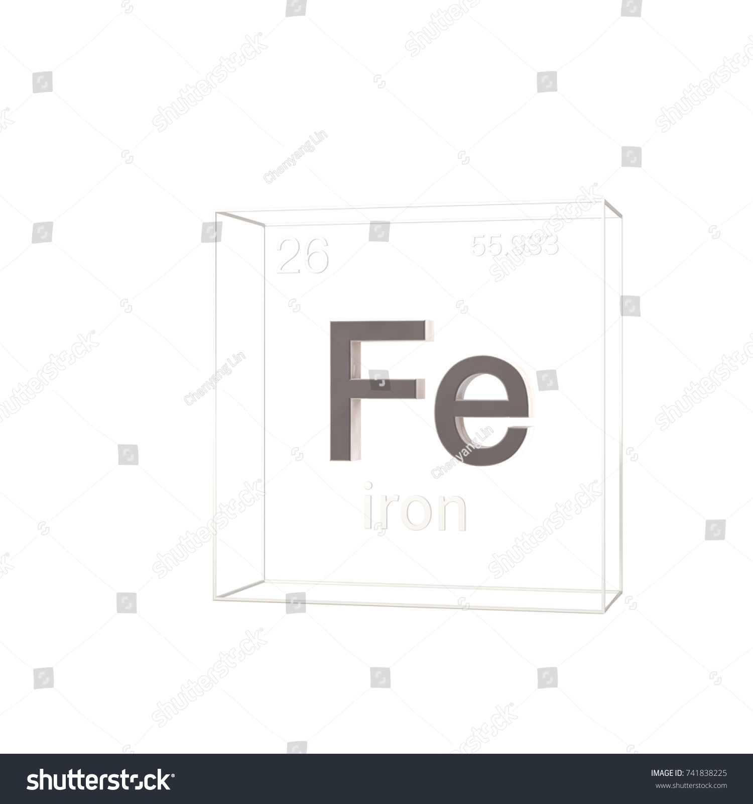 Hydrogen chemical element with atomic omnigraffle cisco stencils periodic table symbol for iron images periodic table images stock photo iron chemical element atomic number gamestrikefo Choice Image