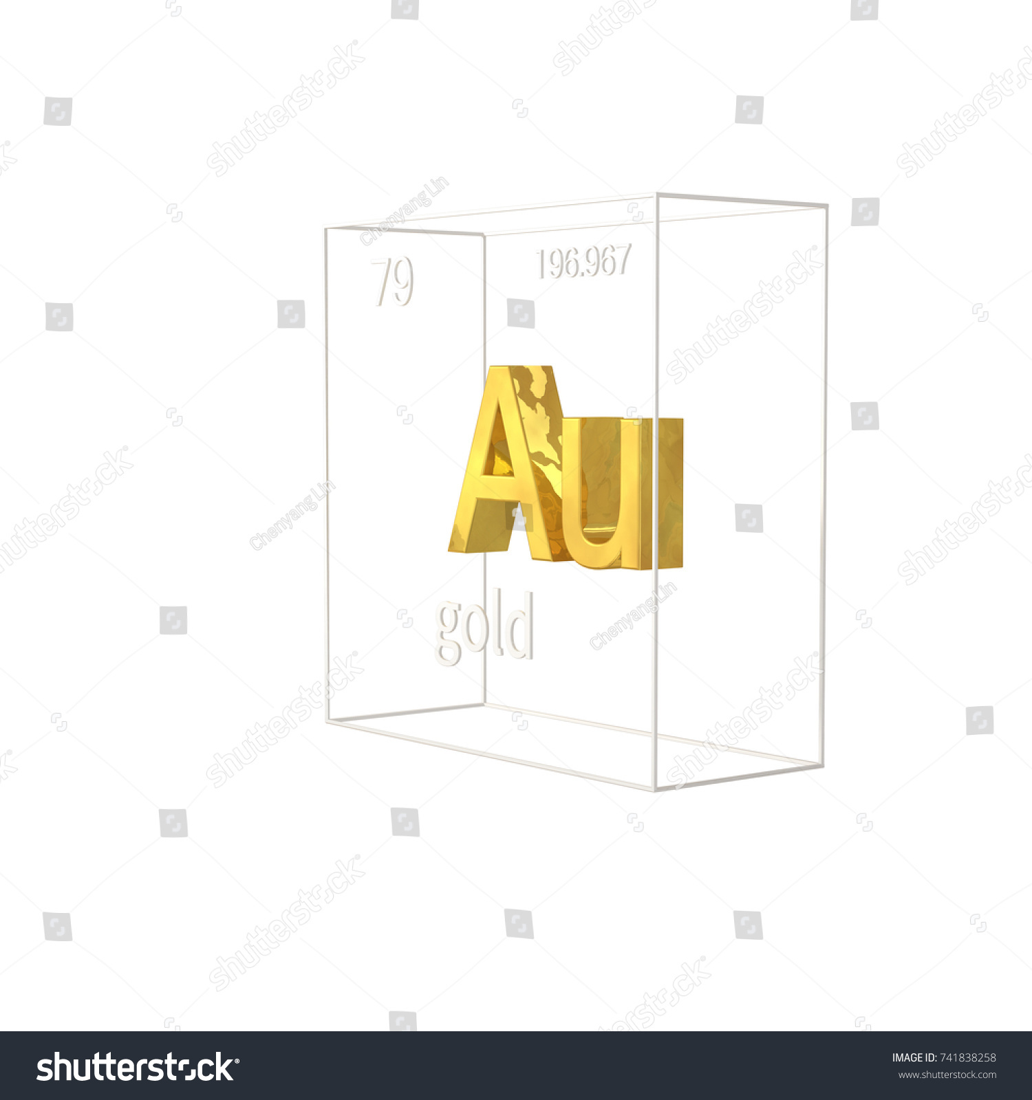 Gold chemical element atomic number atomic stock illustration gold chemical element atomic number atomic stock illustration 741838258 shutterstock urtaz Images