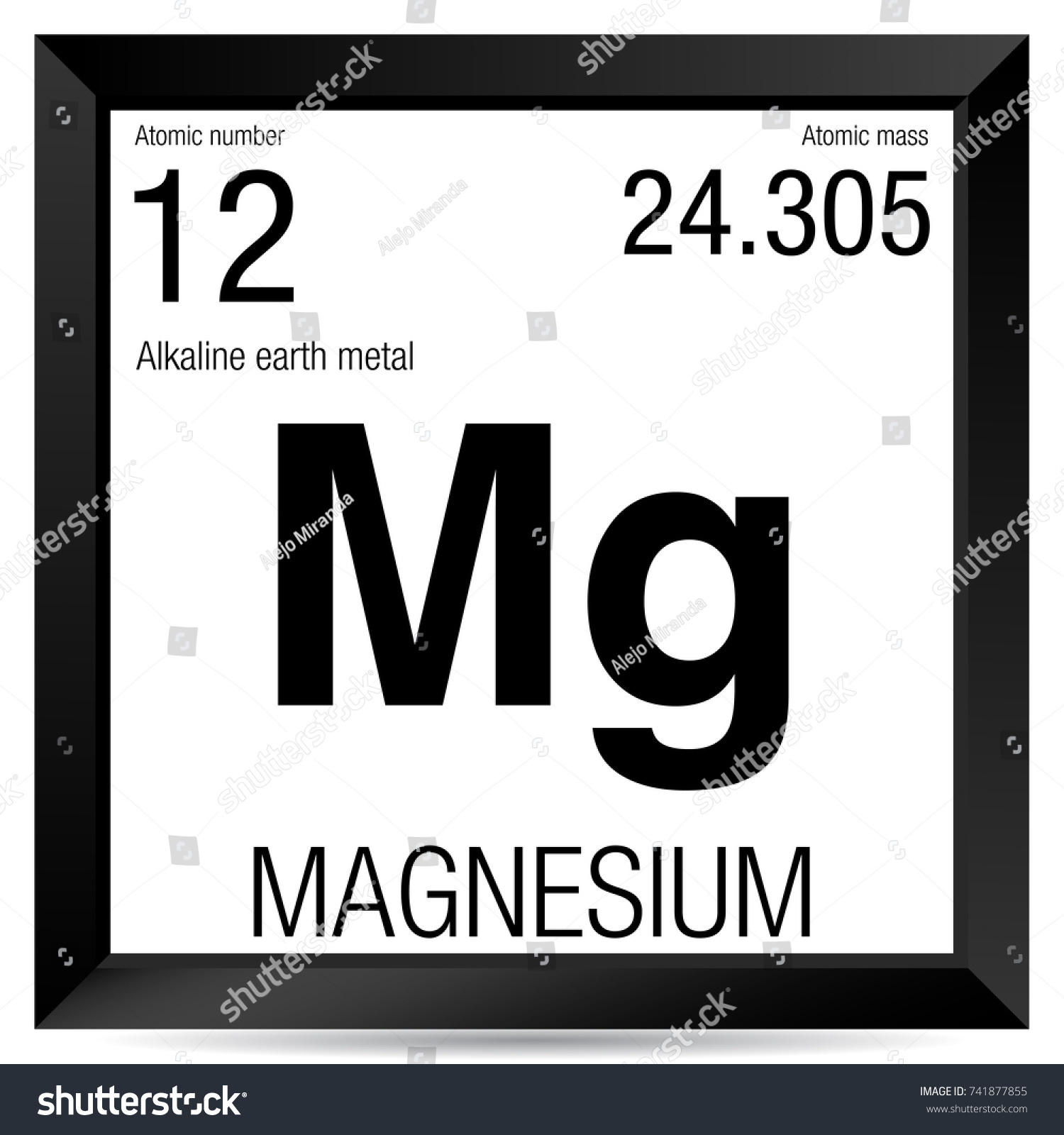 What is the symbol for magnesium on the periodic table choice magnesium symbol element number 12 periodic stock vector 741877855 magnesium symbol element number 12 of the gamestrikefo Gallery