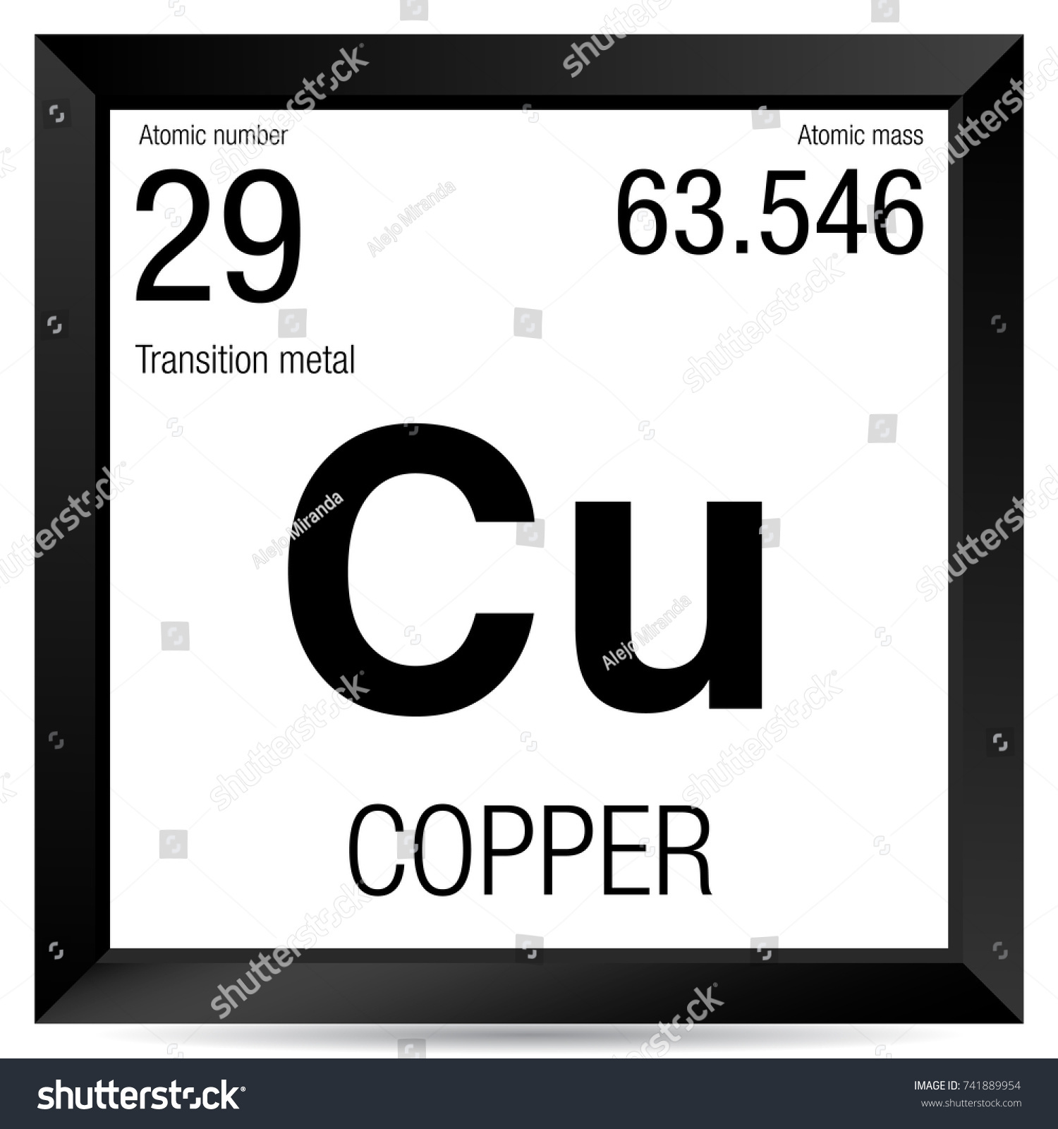 Periodic table of elements copper image collections periodic copper symbol element number 29 periodic stock vector 741889954 copper symbol element number 29 of the gamestrikefo Gallery