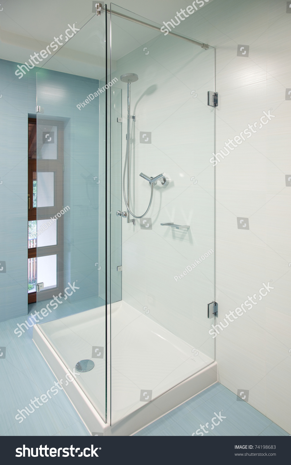 Modern Glass Shower Cabin