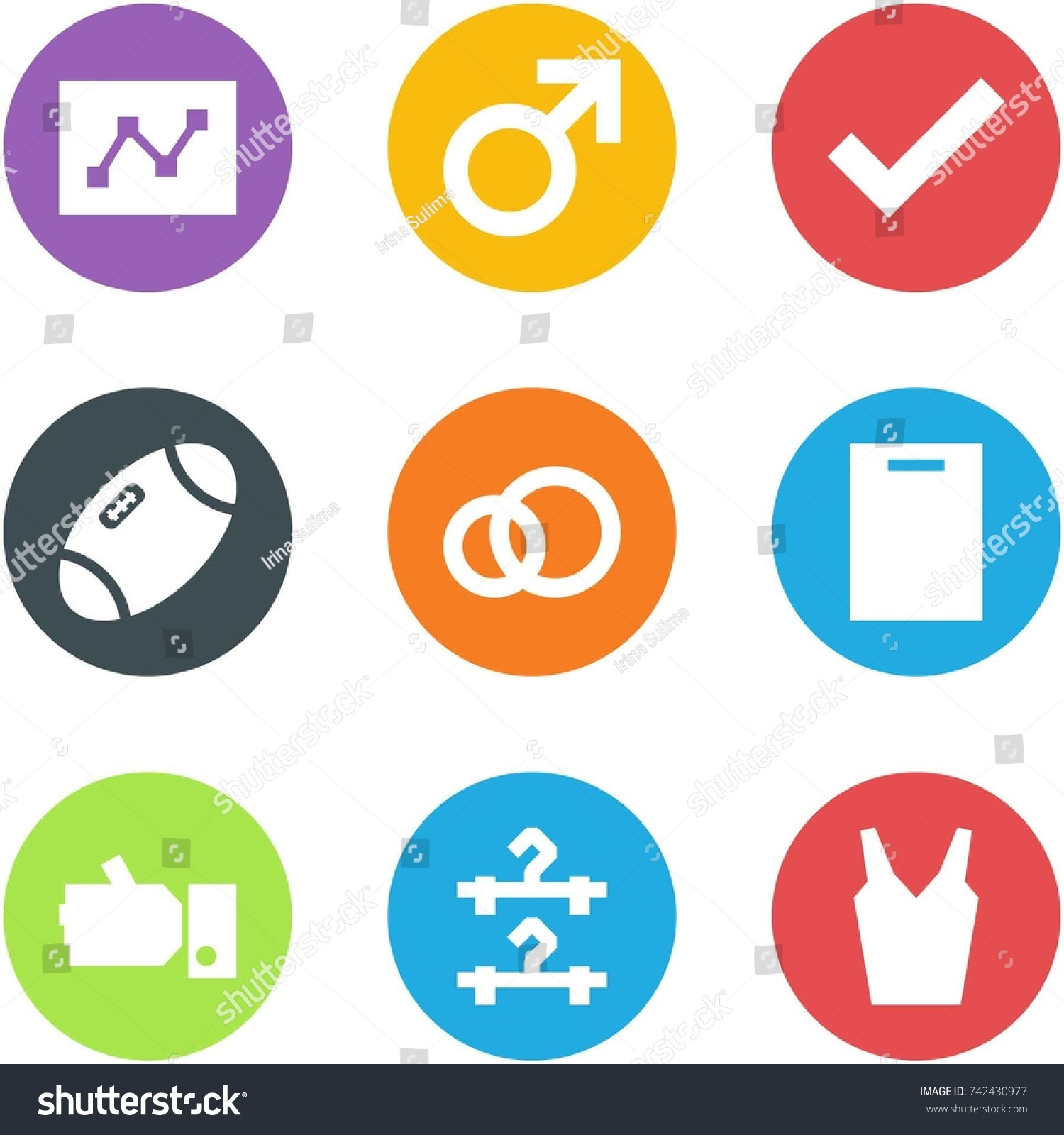 rings black olympiad acrobatic stock icon image discipline vector with stripes gymnastic sport shadow of concept healthy