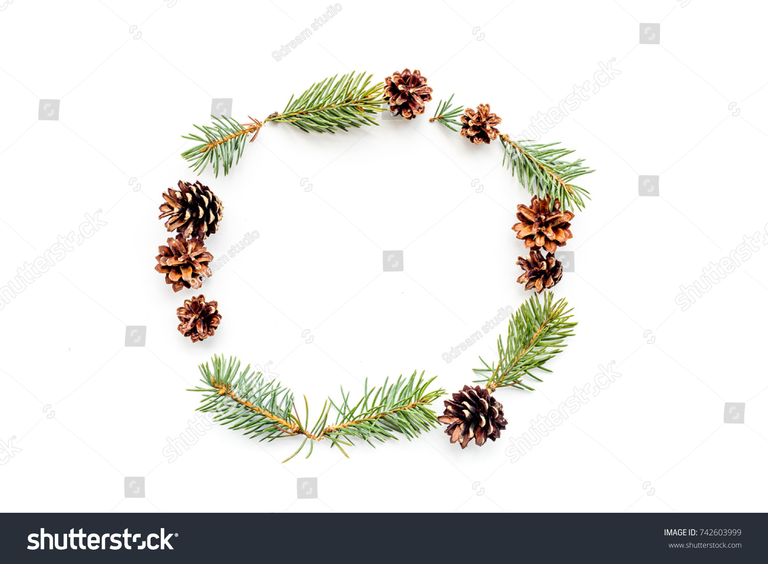 New year symbols pattern spruce branches stock photo 742603999 new year symbols pattern spruce branches and cones on white background top view copyspace biocorpaavc Image collections