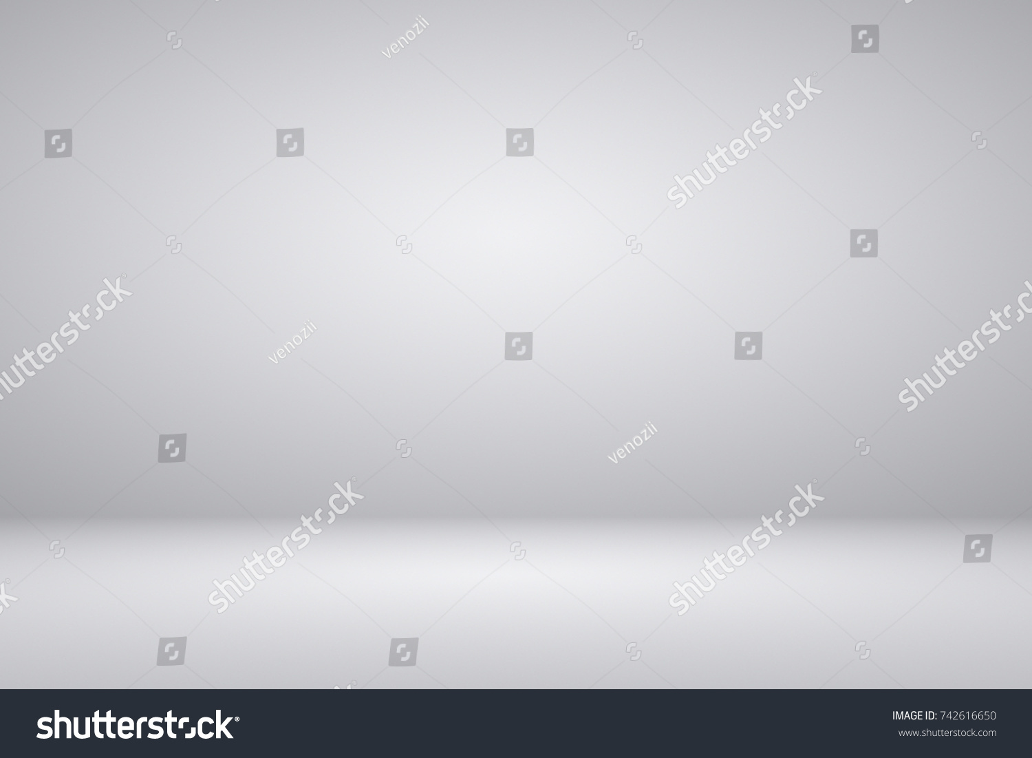 Abstract Dark Grey White Gradient Background Stock Illustration 742616650