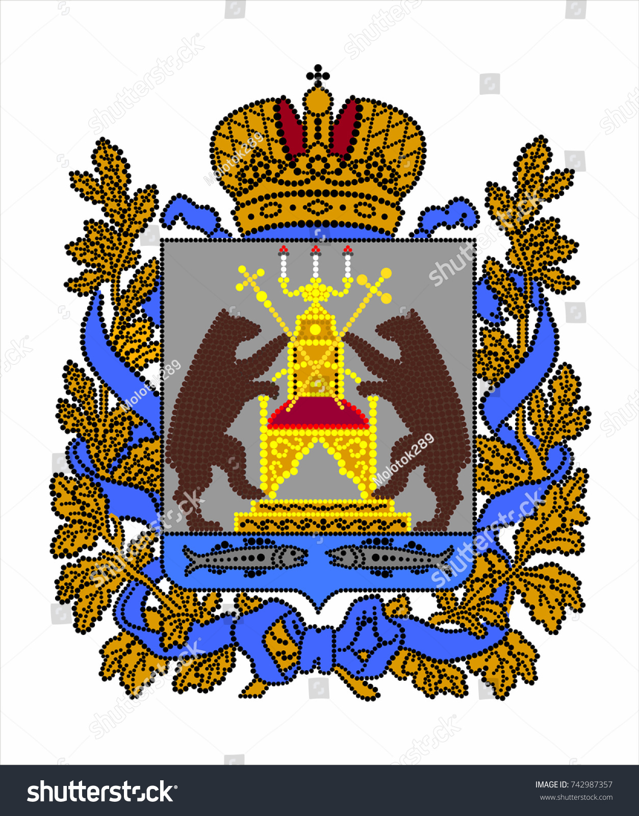 Coat of arms of Novgorod: description, photo, meaning 30