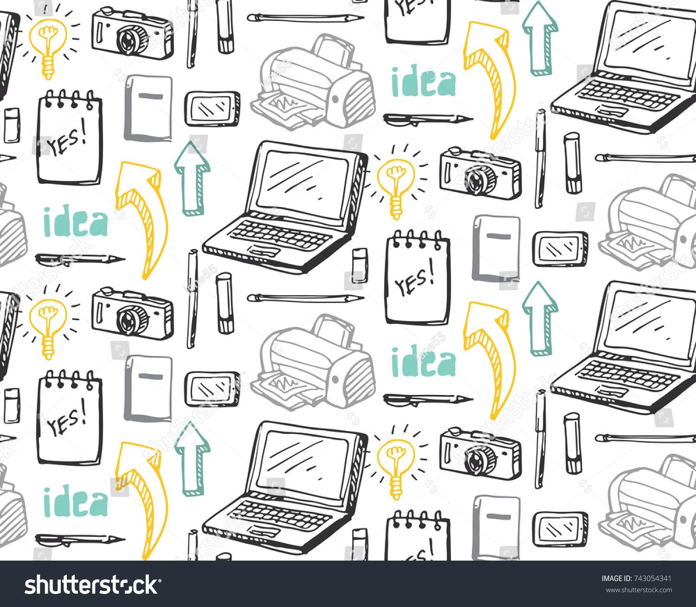 Brainstorm Concept Business Idea Flat Design Stock Photo (Photo ...