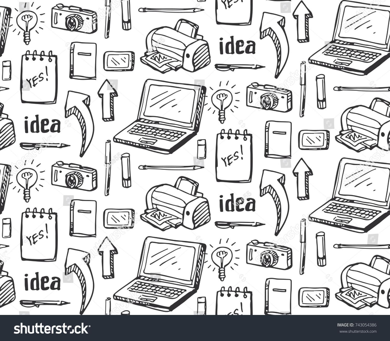 Brainstorm Concept Business Idea Flat Design Stock Vector (Royalty ...