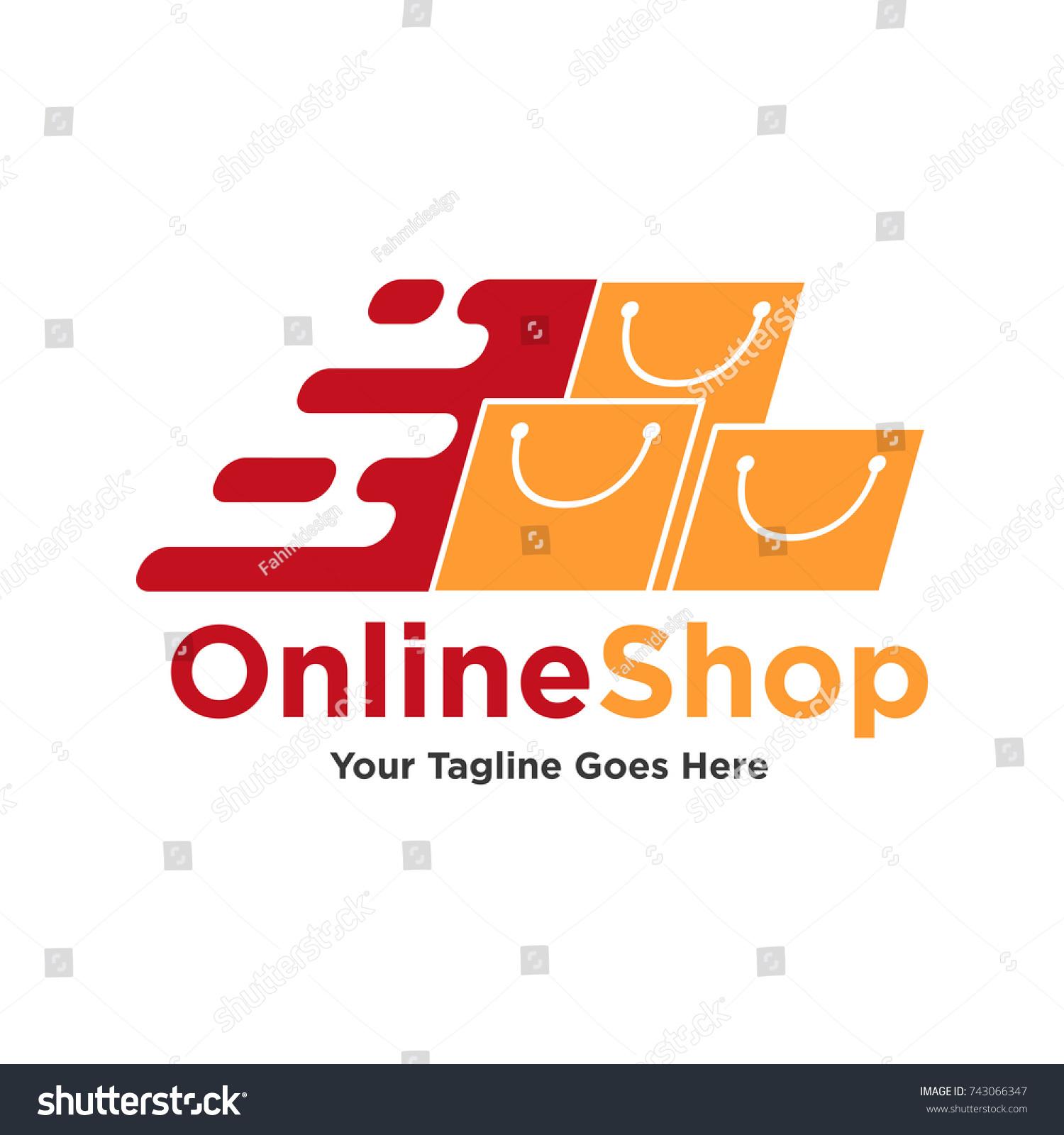 Set Shop Logo Designs Template Vector Stock Vector 743066347