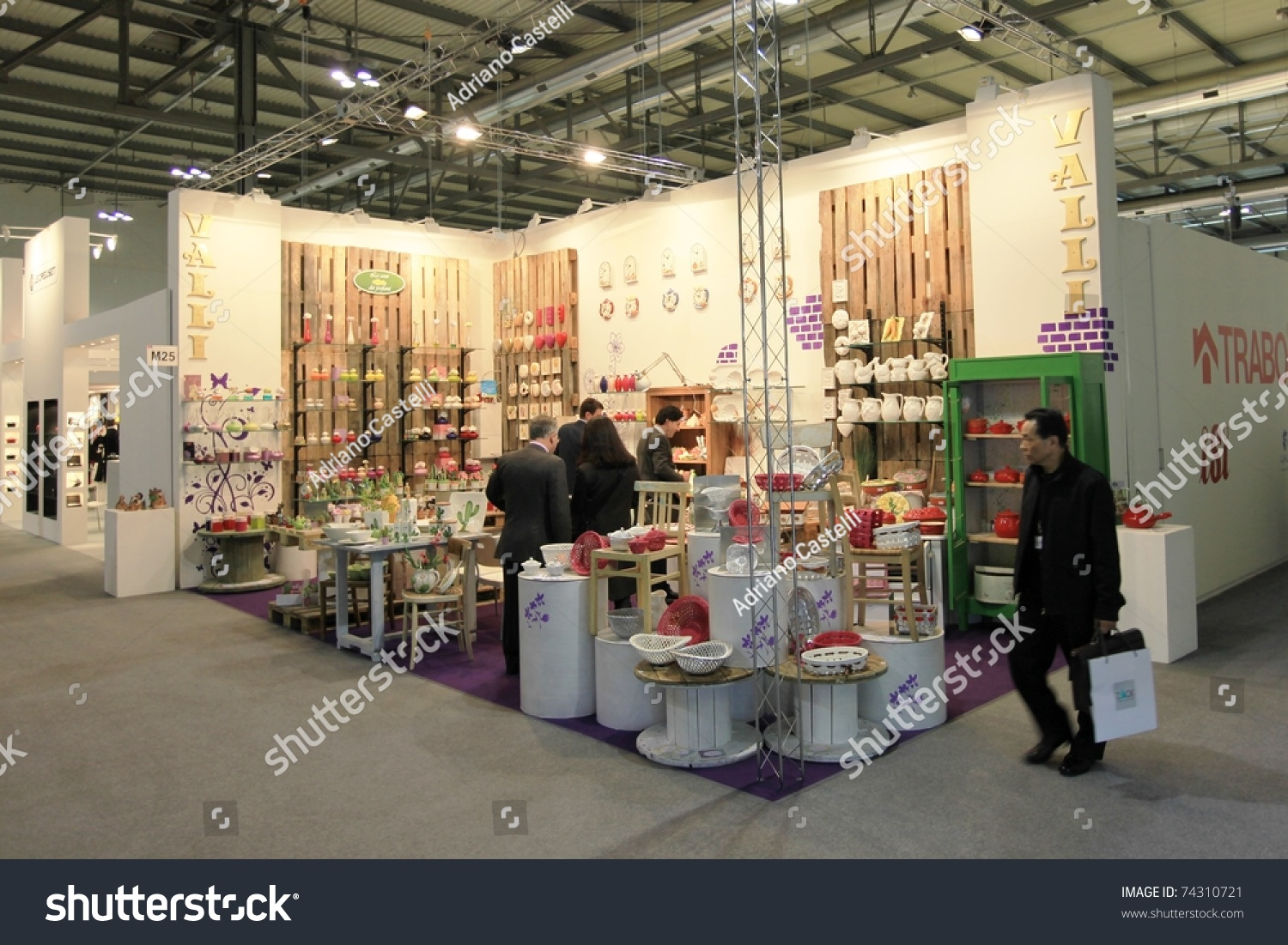 Milan italy january 28 people visit stock photo 74310721 shutterstock for International interior design exhibition