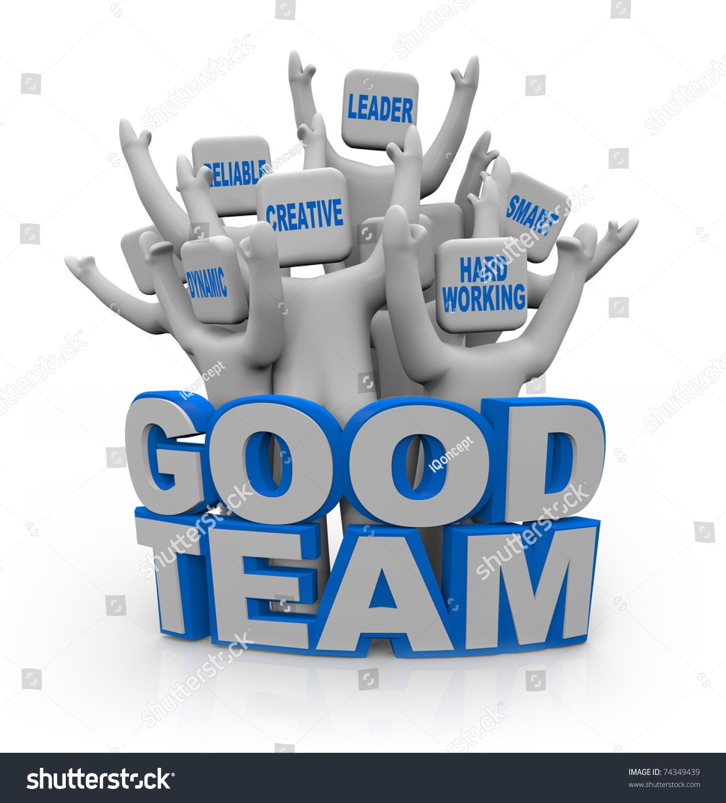 group cheering people teamwork qualities on stock illustration a group of cheering people teamwork qualities on their heads leader smart