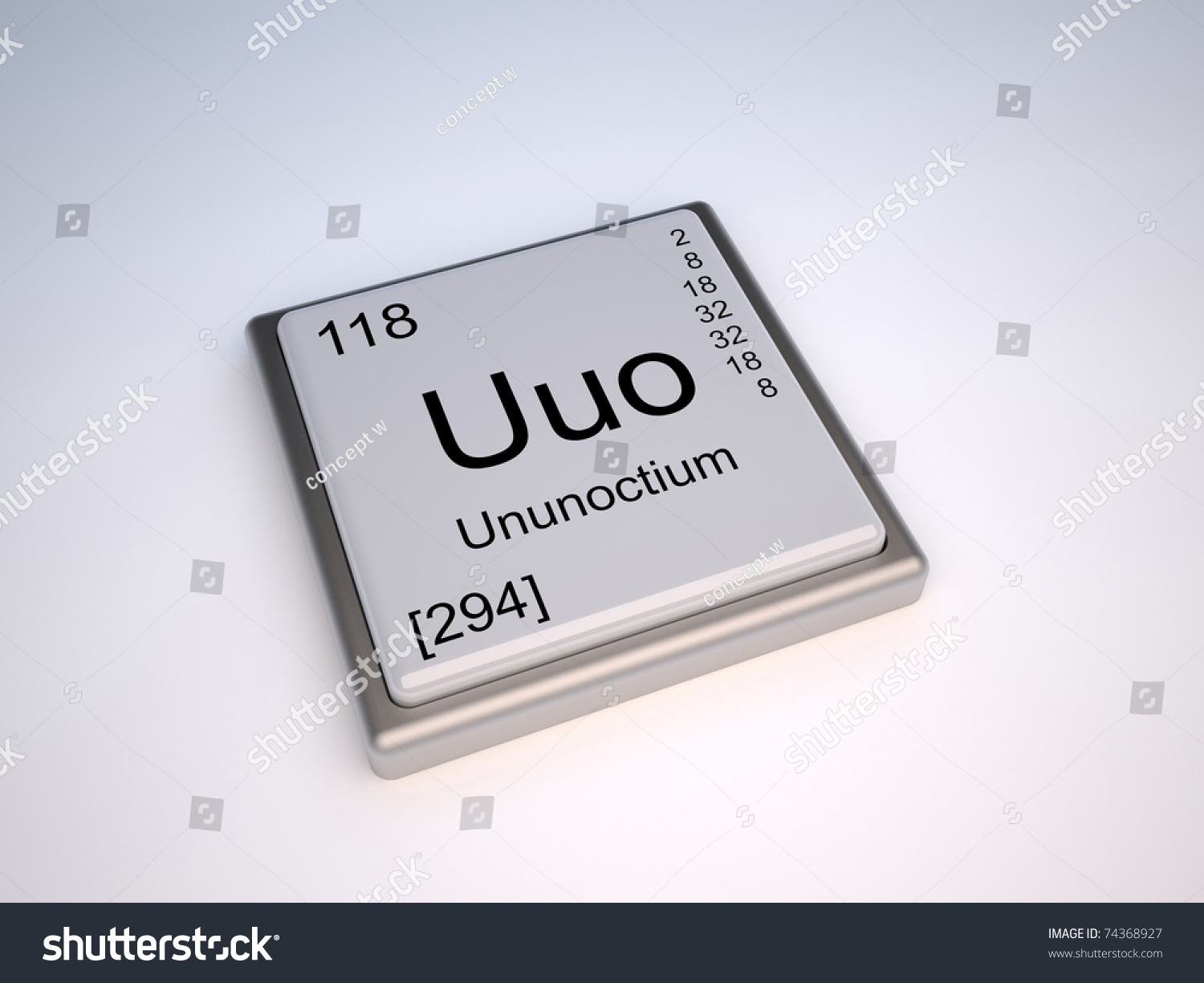 Ununoctium chemical element periodic table symbol stock illustration ununoctium chemical element of the periodic table with symbol uuo urtaz Images