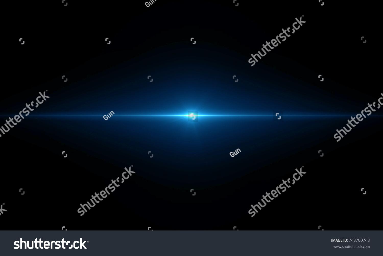Lens flare light #743700748
