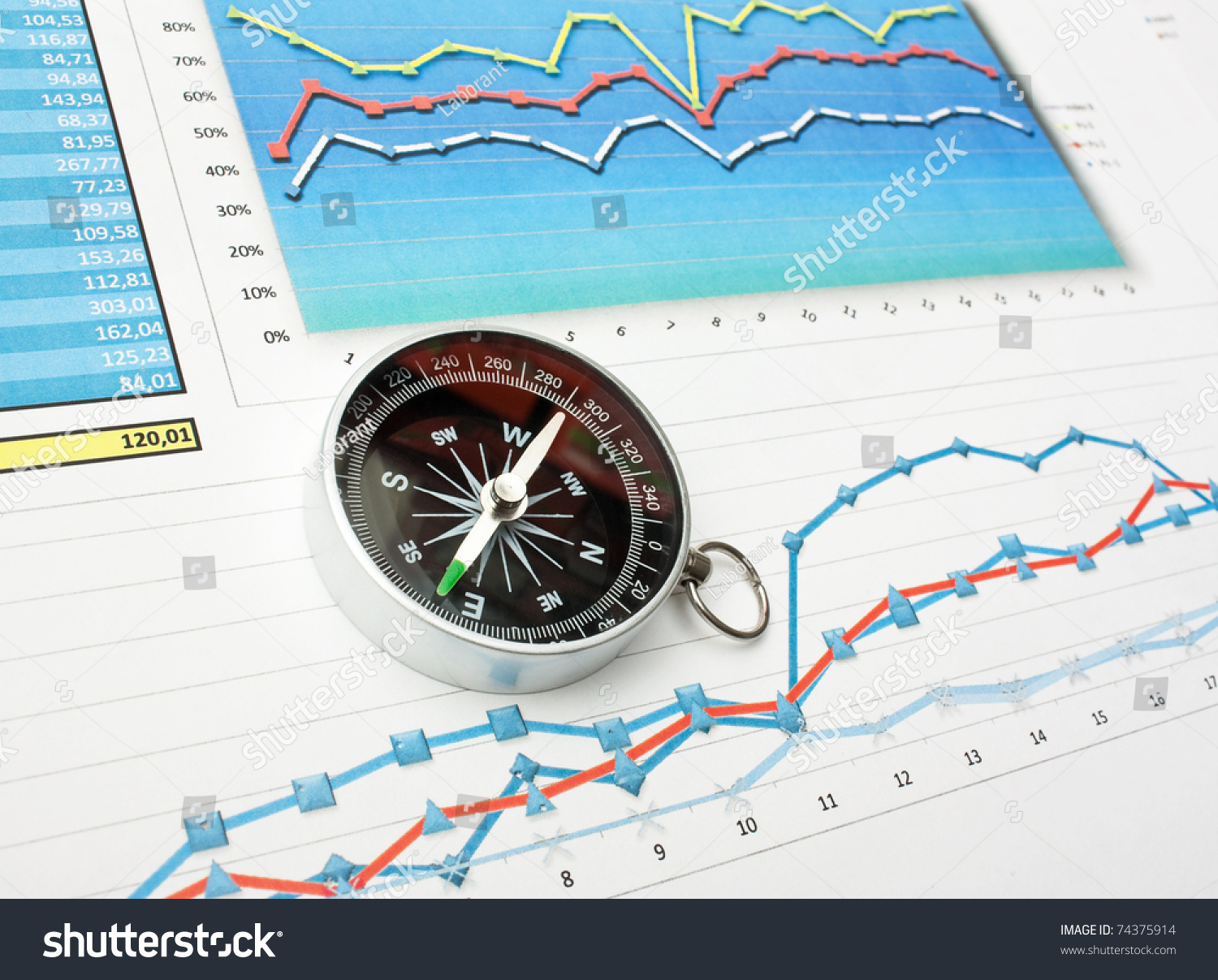 Compass on paper work diagram stock photo 74375914 shutterstock compass on paper work with diagram pooptronica