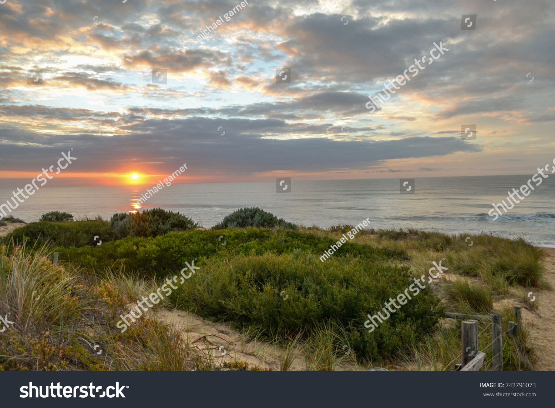 Sunrise Golden Beach Gippsland Victoria ...