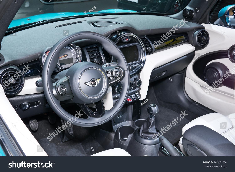 Frankfurt September 20 Interior Mini Cooper Cabrio Stock Photo (Edit ...