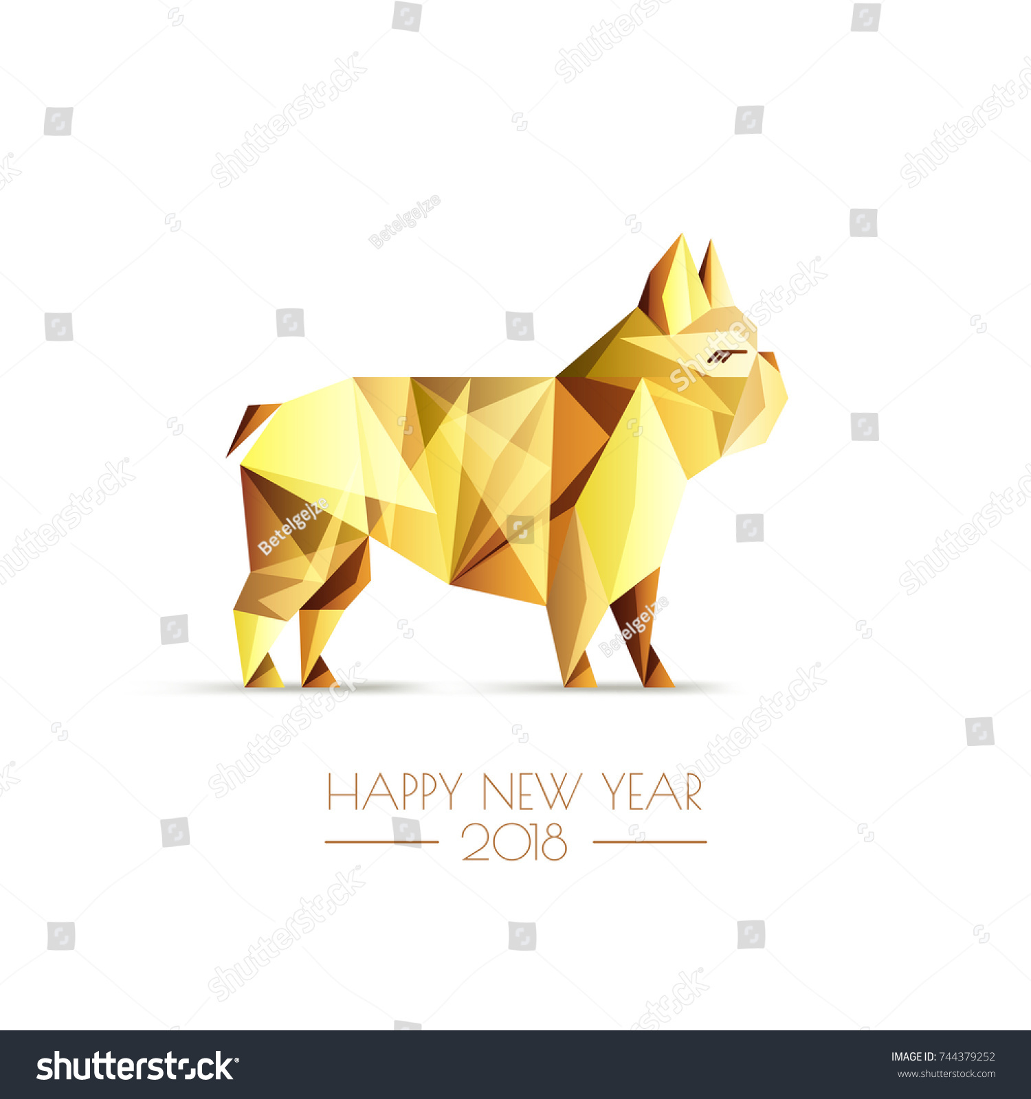 Happy Chinese New Year 2018 Vector Stock Vector Hd Royalty Free
