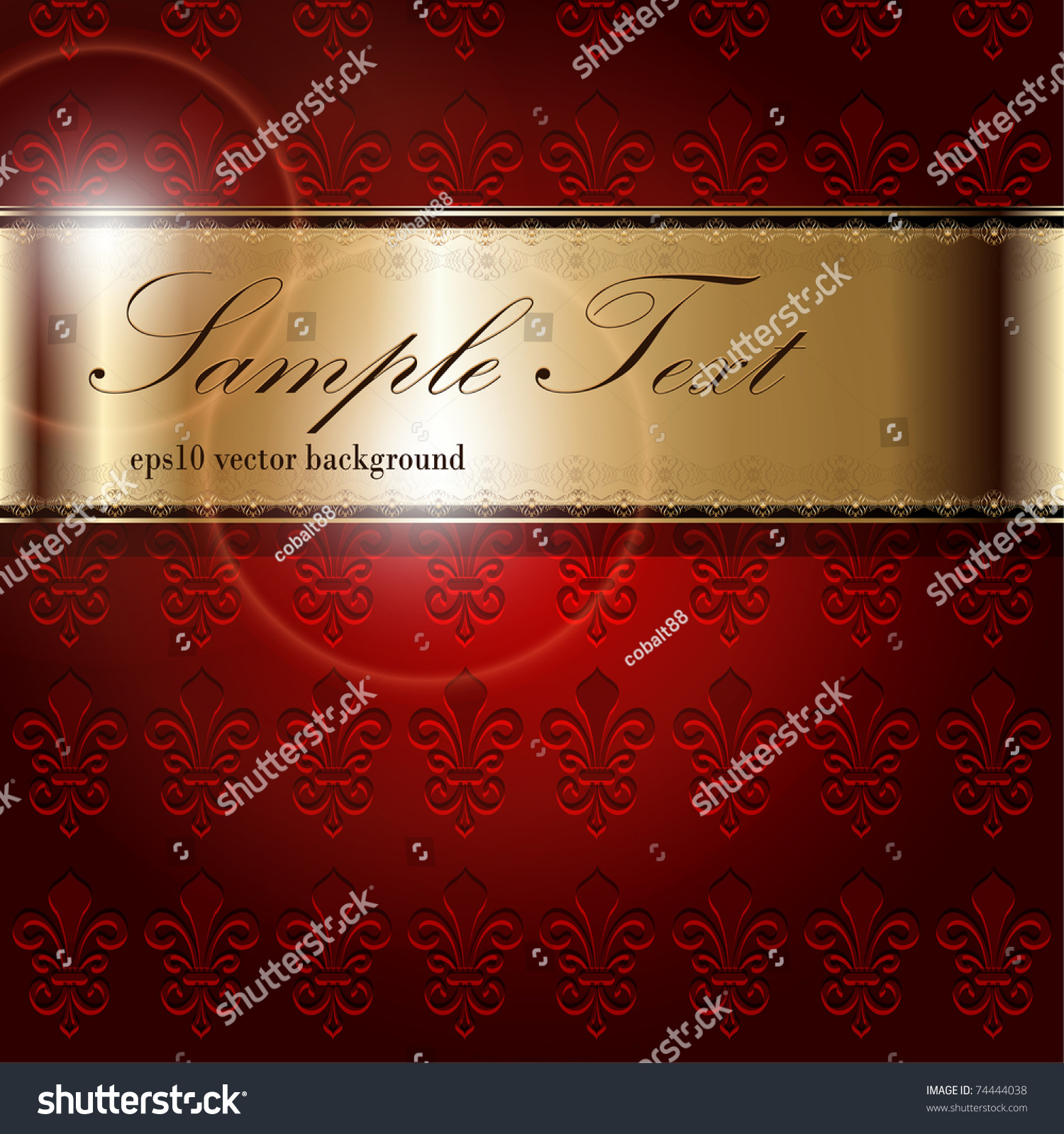 Abstract Background Luxury Purple With Gold, Vector. - 74444038 : Shutterstock