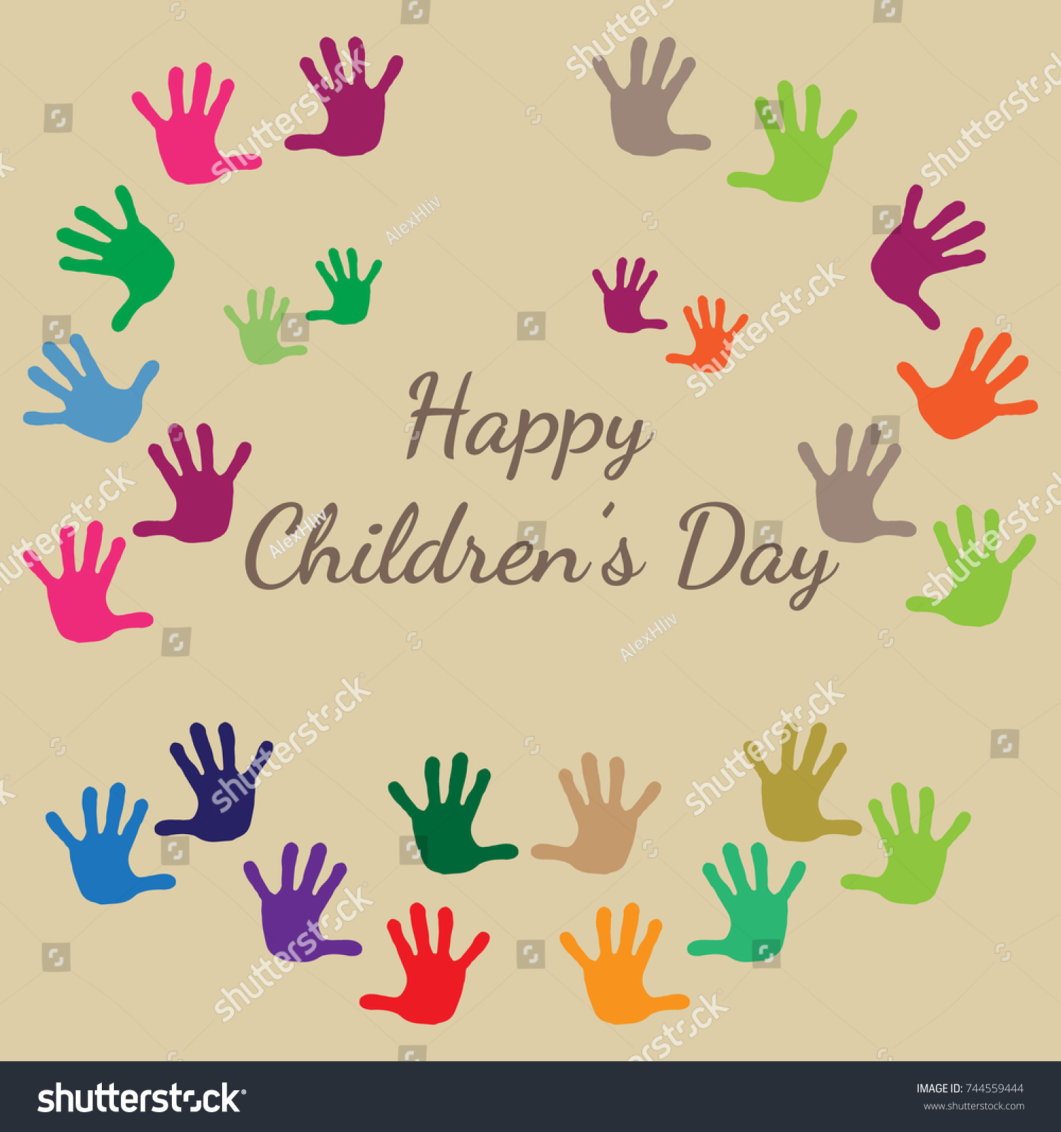 International Childrens Day Happy Children Day Stock Vector Royalty