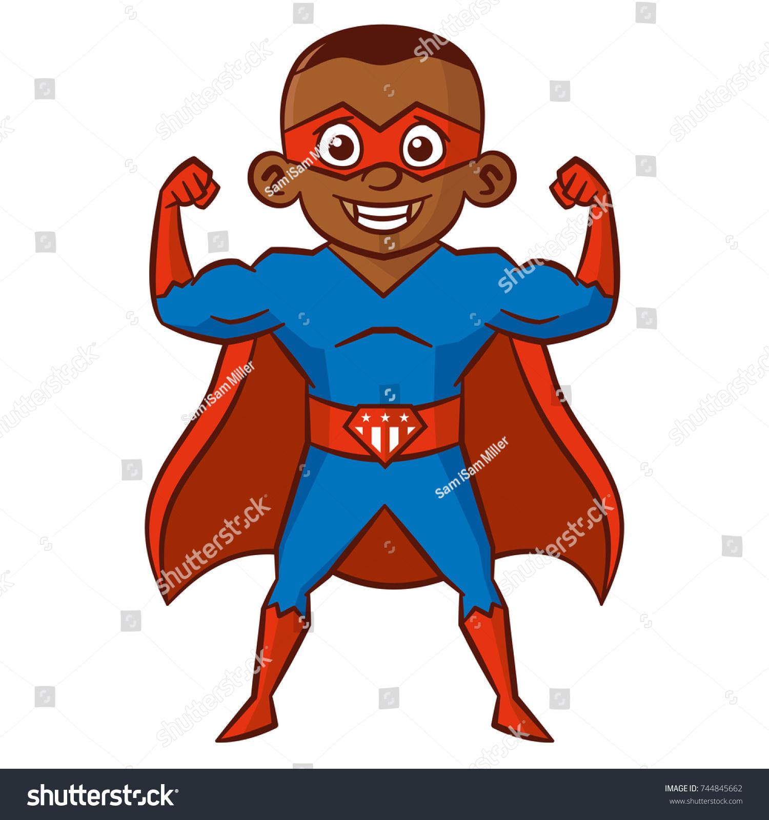 Cartoon Superhero Ez Canvas