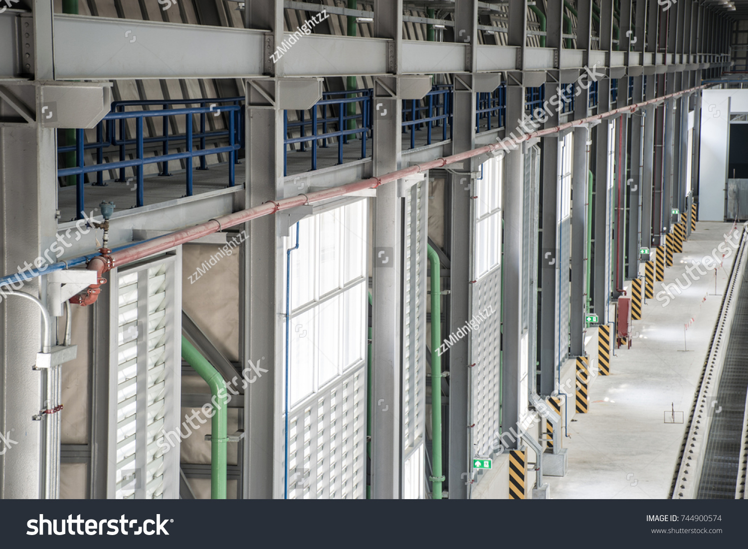 Electrical Mechanical Equipment System Installation New Stock Photo ...