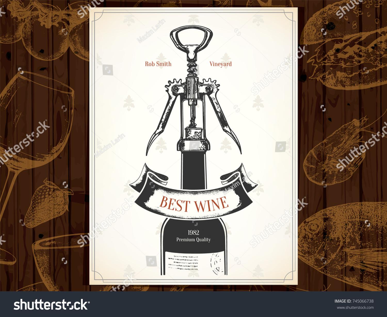 Wine Brochure Template Samannetonic