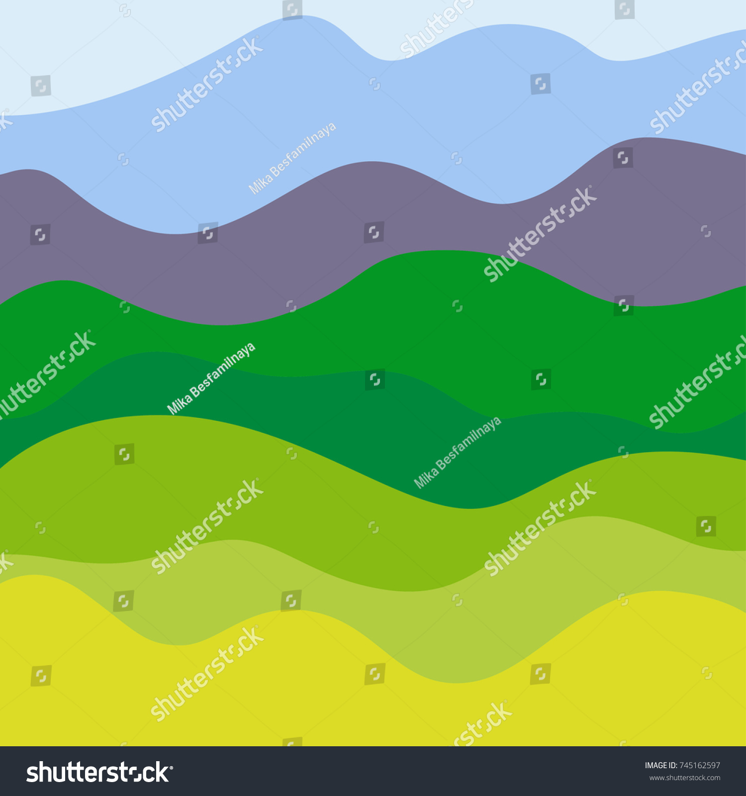 Popular Wallpaper Mountain Pattern - stock-vector-background-landscape-with-trees-and-mountains-pattern-with-waves-multicolored-eco-texture-745162597  Best Photo Reference_273810.jpg