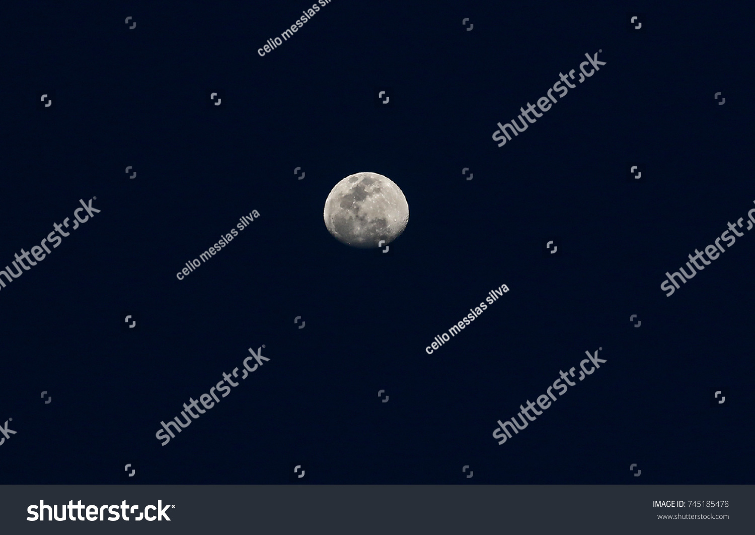 Moon Phases Sky Stock Photo Edit Now 745185478 Shutterstock
