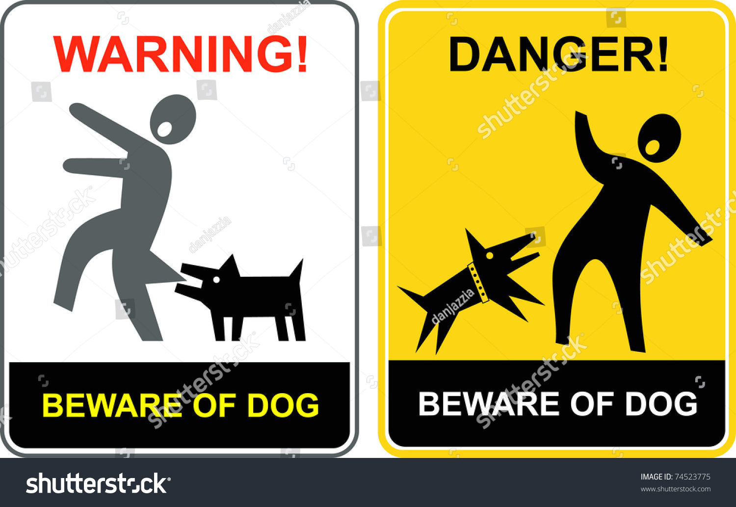 Beware Of Dog And The Cat
