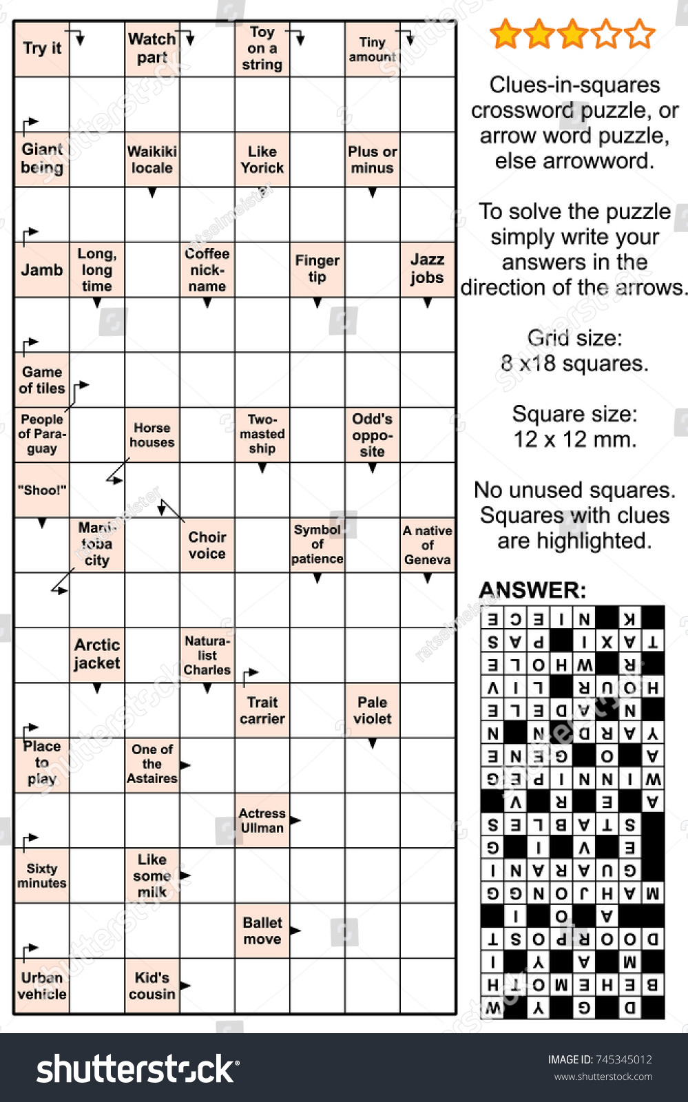 2019 year looks- Crossword stylishness clue