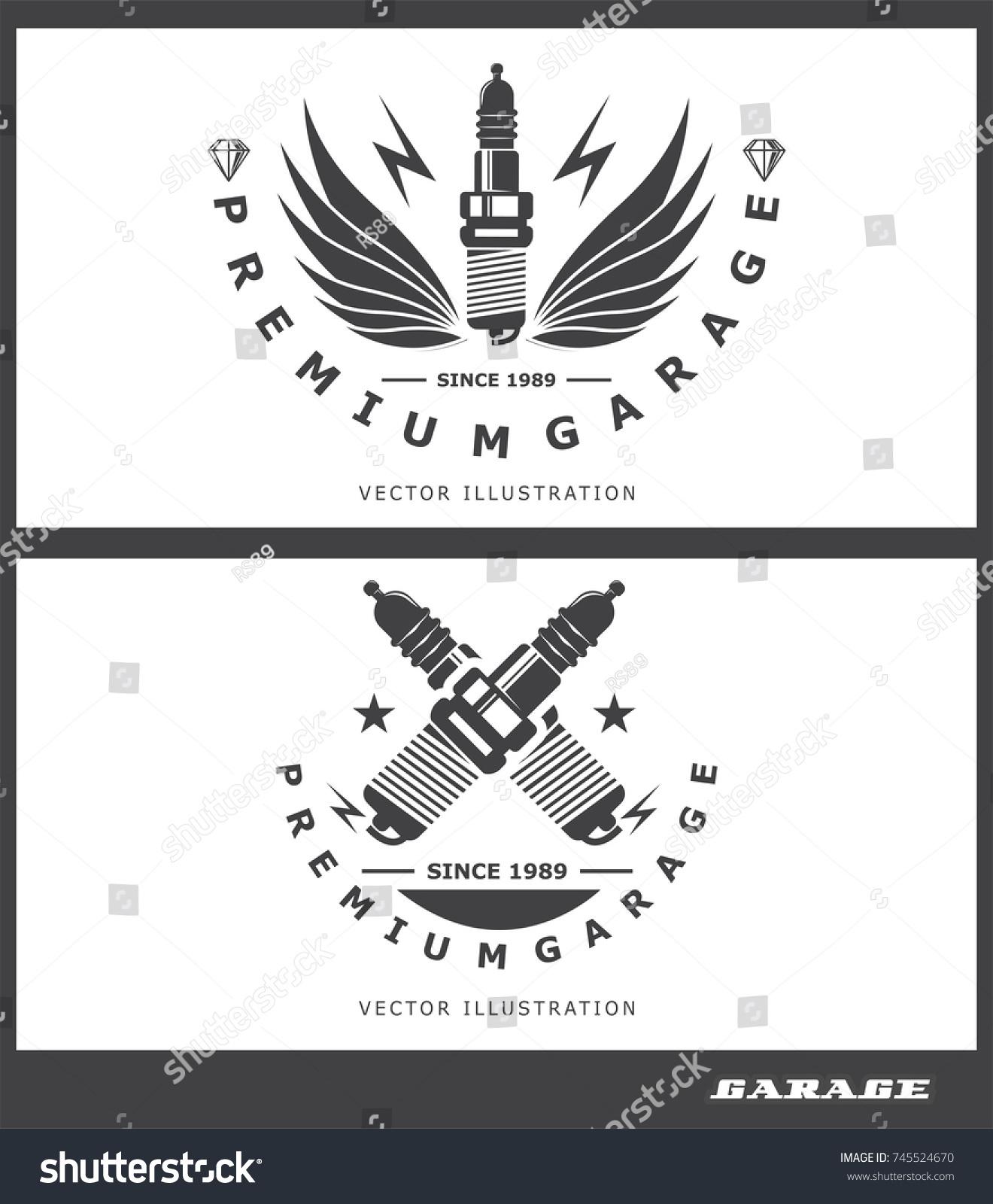 Logo garage concept repair glow plug stock vector 745524670 logo garage the concept of repair glow plug icon spark illustration buycottarizona
