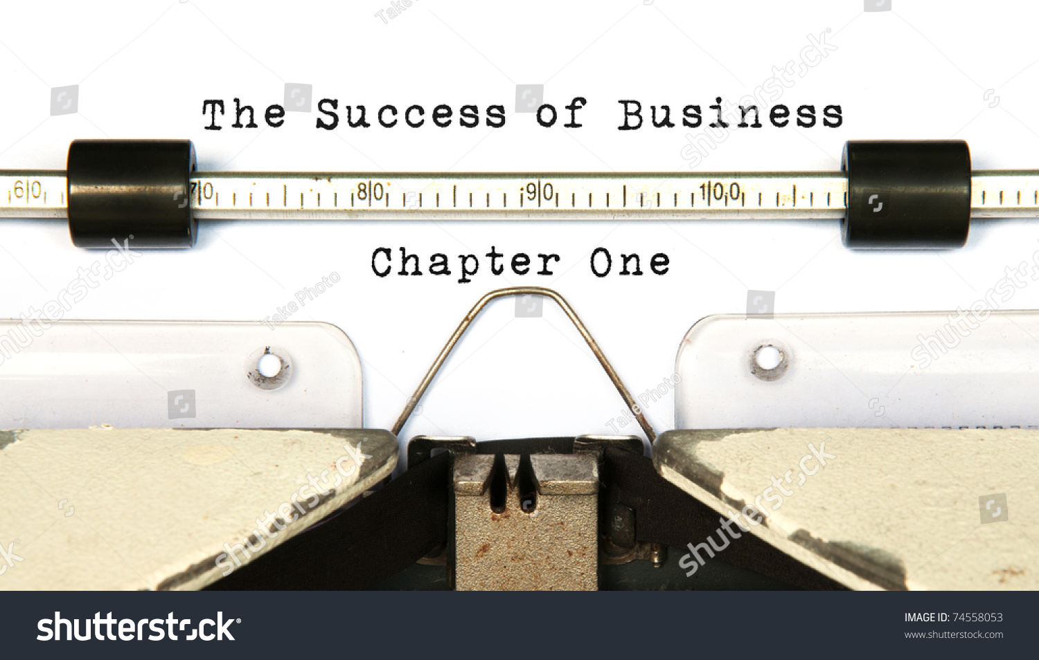 Business chapter one