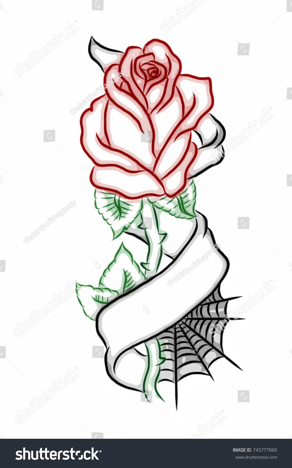 Royalty Free Stock Illustration Of 3 D Digitally Illustrated Rose