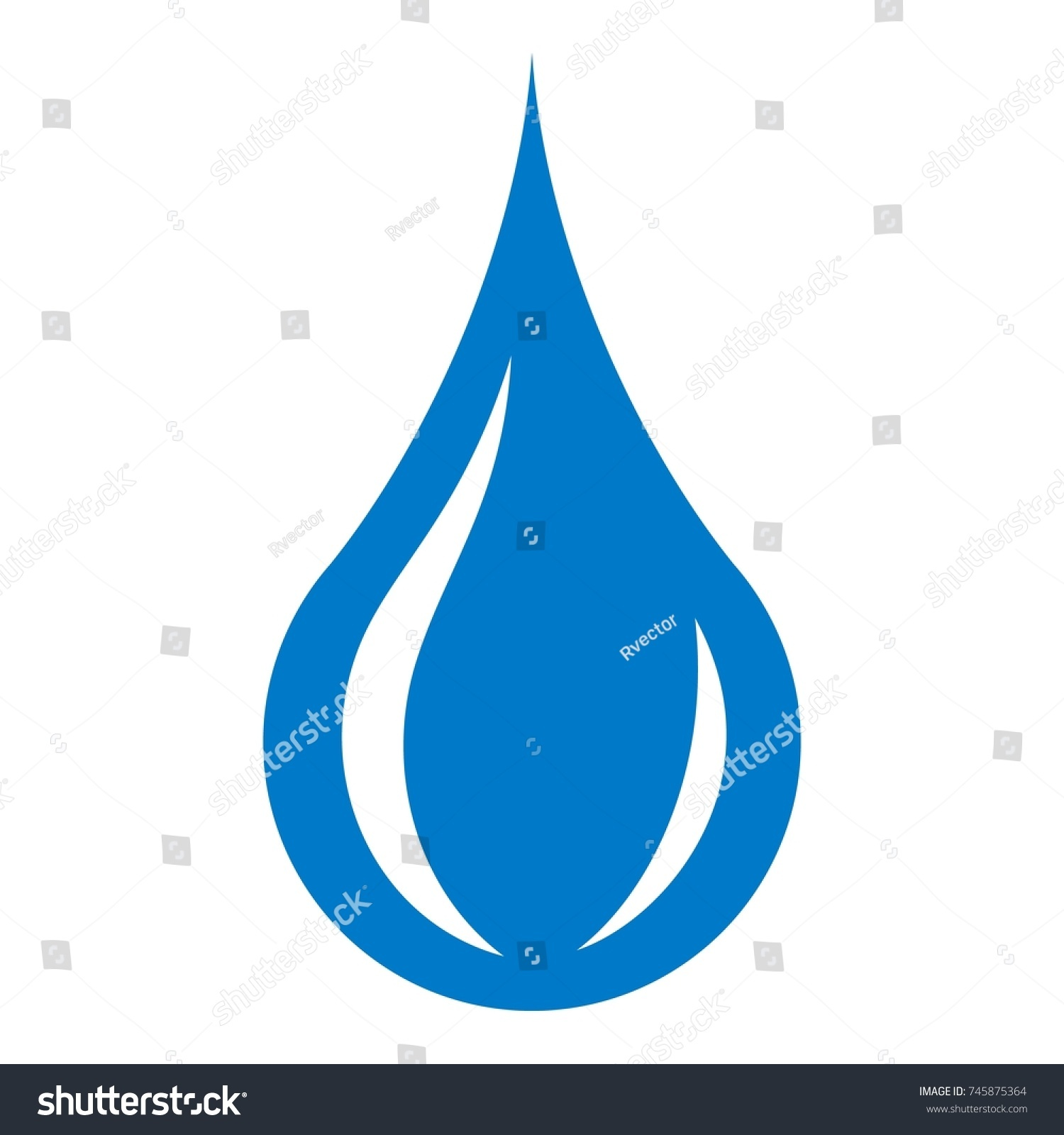 raindrop icon simple illustration raindrop vector stock vector rh shutterstock com raindrop vector free download raindrop vector art