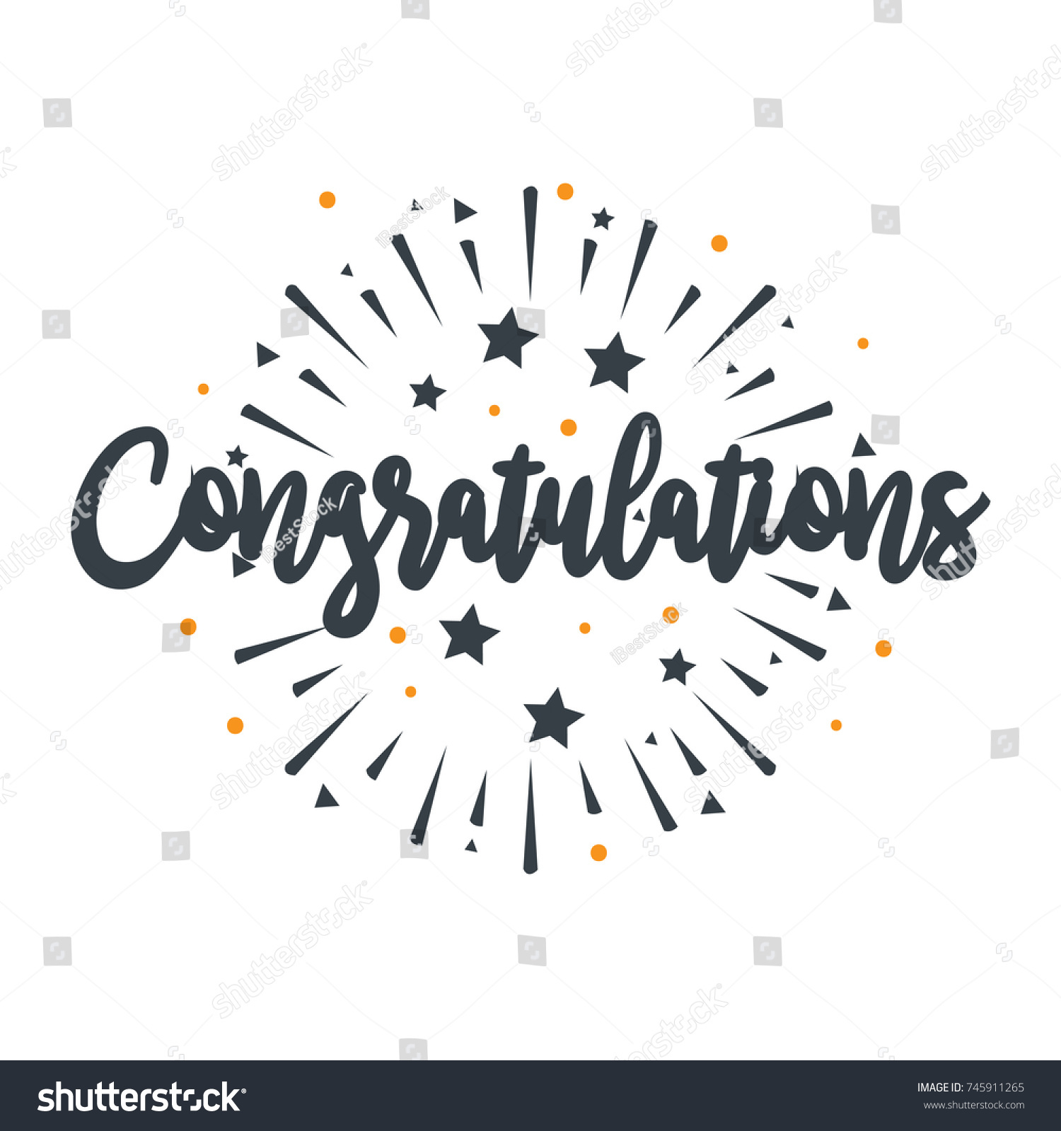 How to congratulate the original