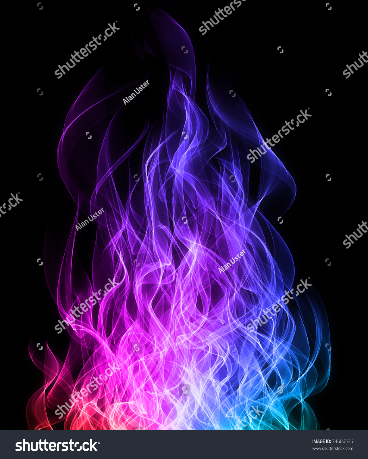 rainbow fire background - photo #11