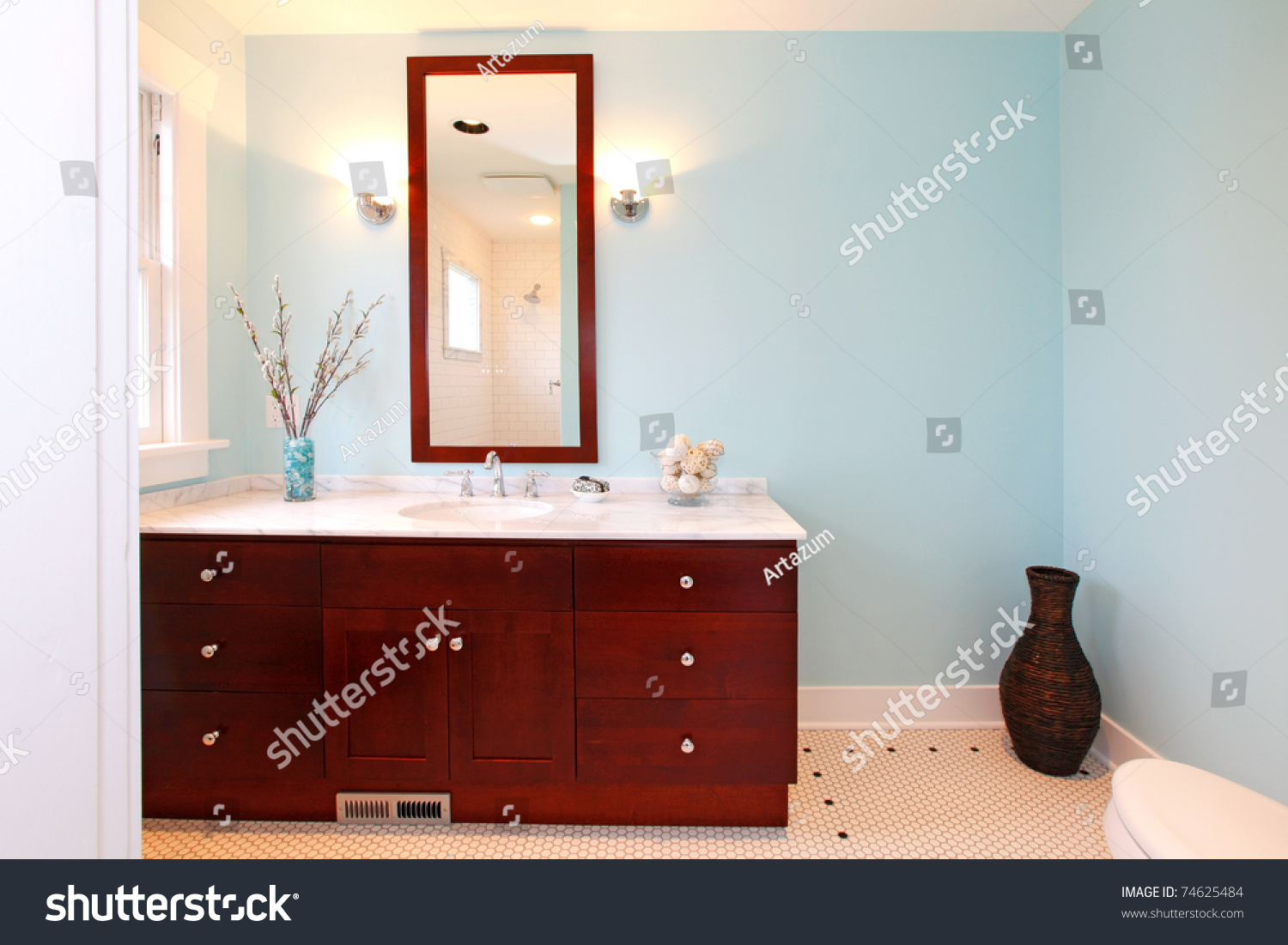 Gentil New Beautiful Bathroom In A Small Cute Old House In Tacoma Wa Bathroom  Cabinets Tacoma