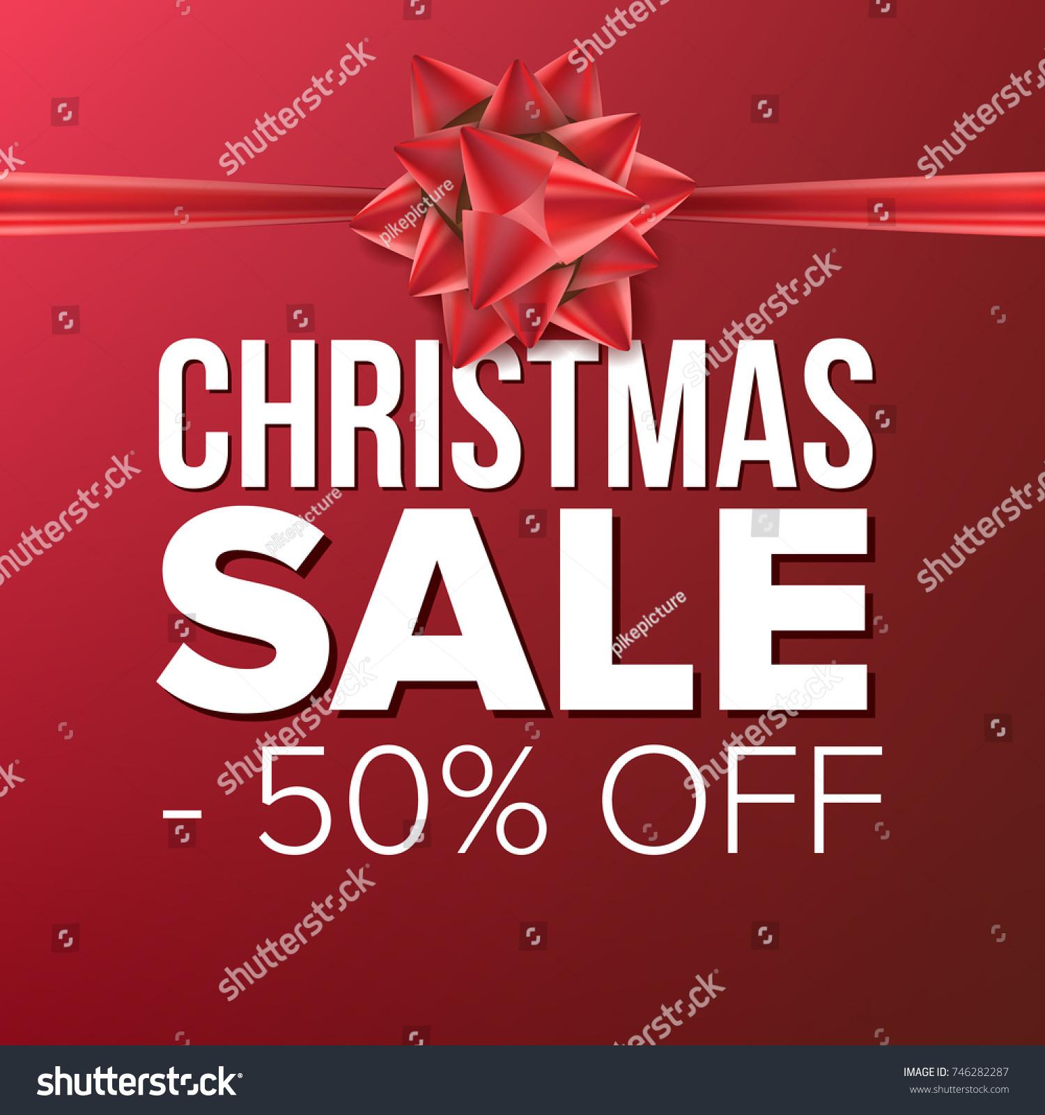 Christmas sale banner vector december holidays stock for Cheap designer wallpaper sale