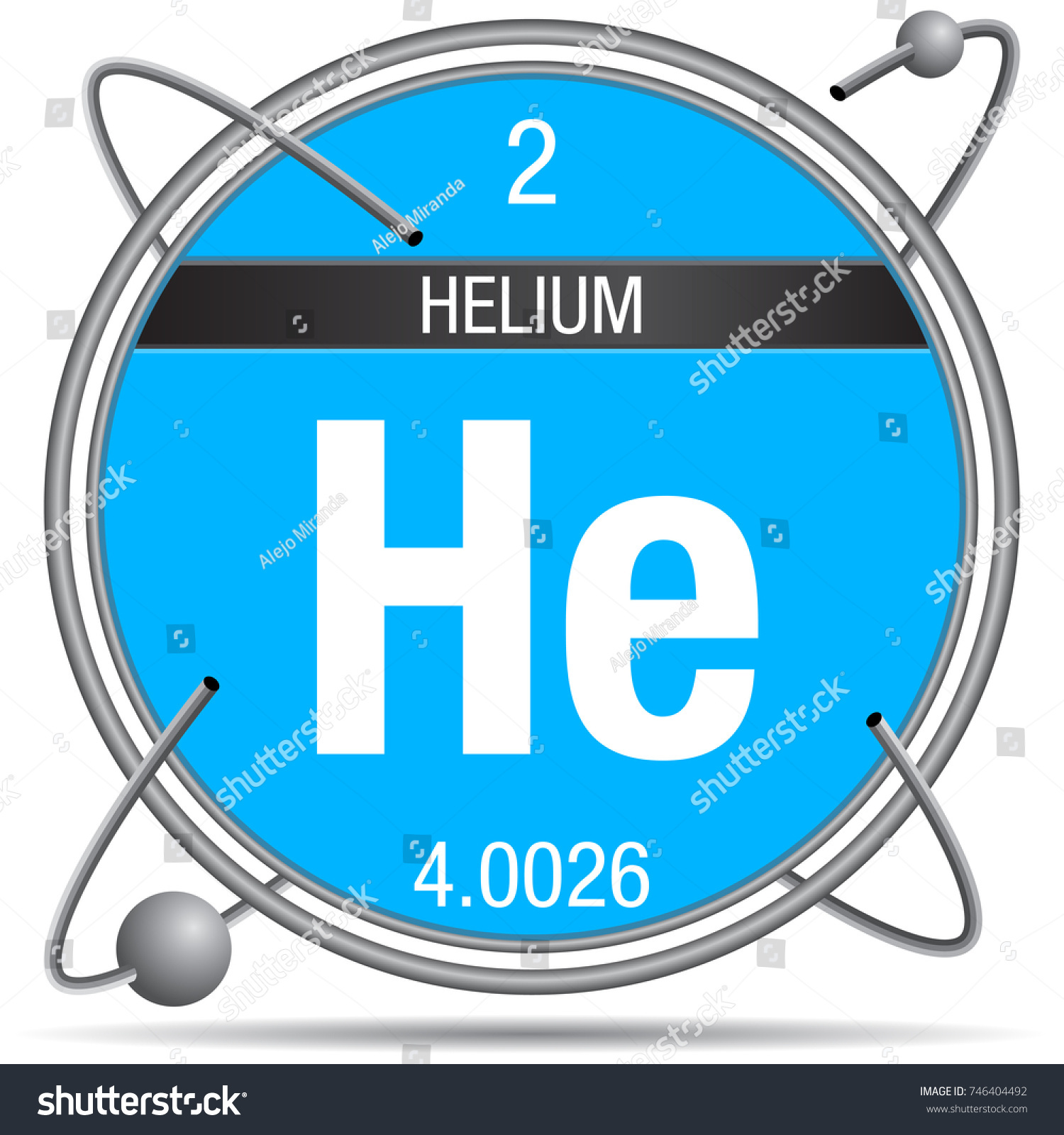 Helium symbol on periodic table images periodic table images helium symbol inside metal ring colored stock vector 746404492 helium symbol inside a metal ring with gamestrikefo Images