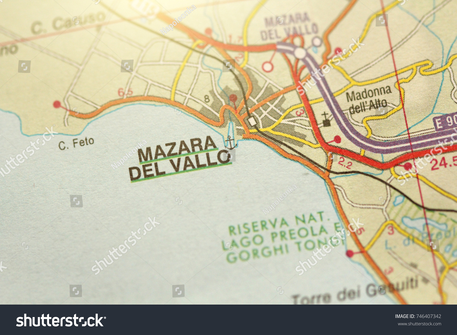 Mazara Del Vallo Island Sicily Italy Stock Photo Royalty Free