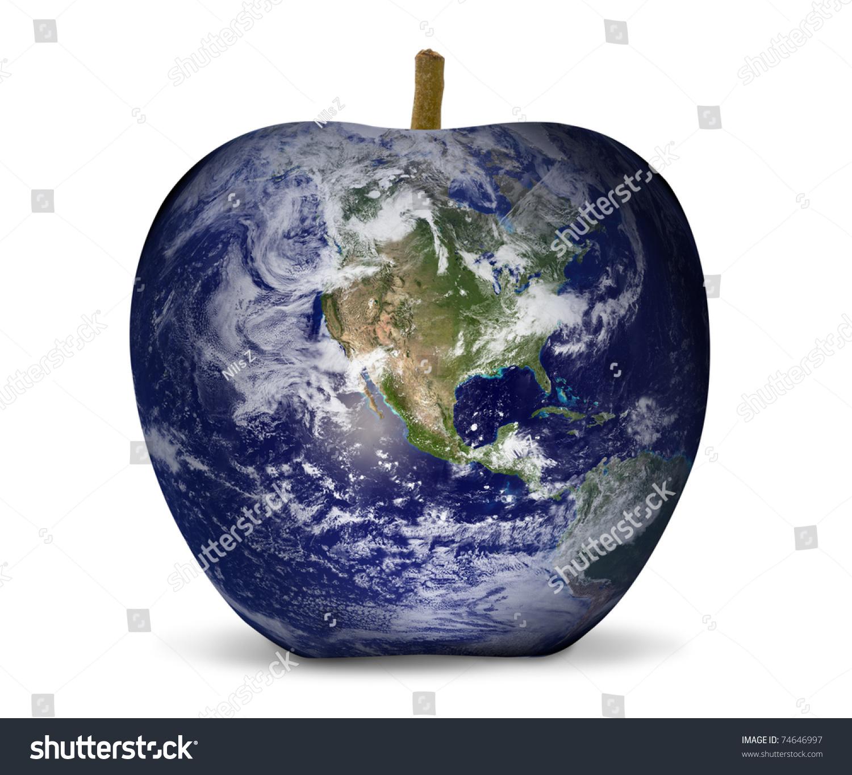 World map apple environment stock photo download now 74646997 world map apple environment gumiabroncs Gallery