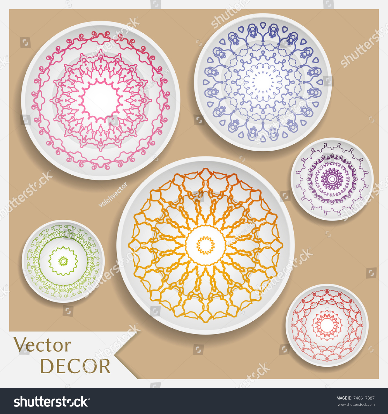 Yellow Decorative Plates | Wall Plate Design Ideas