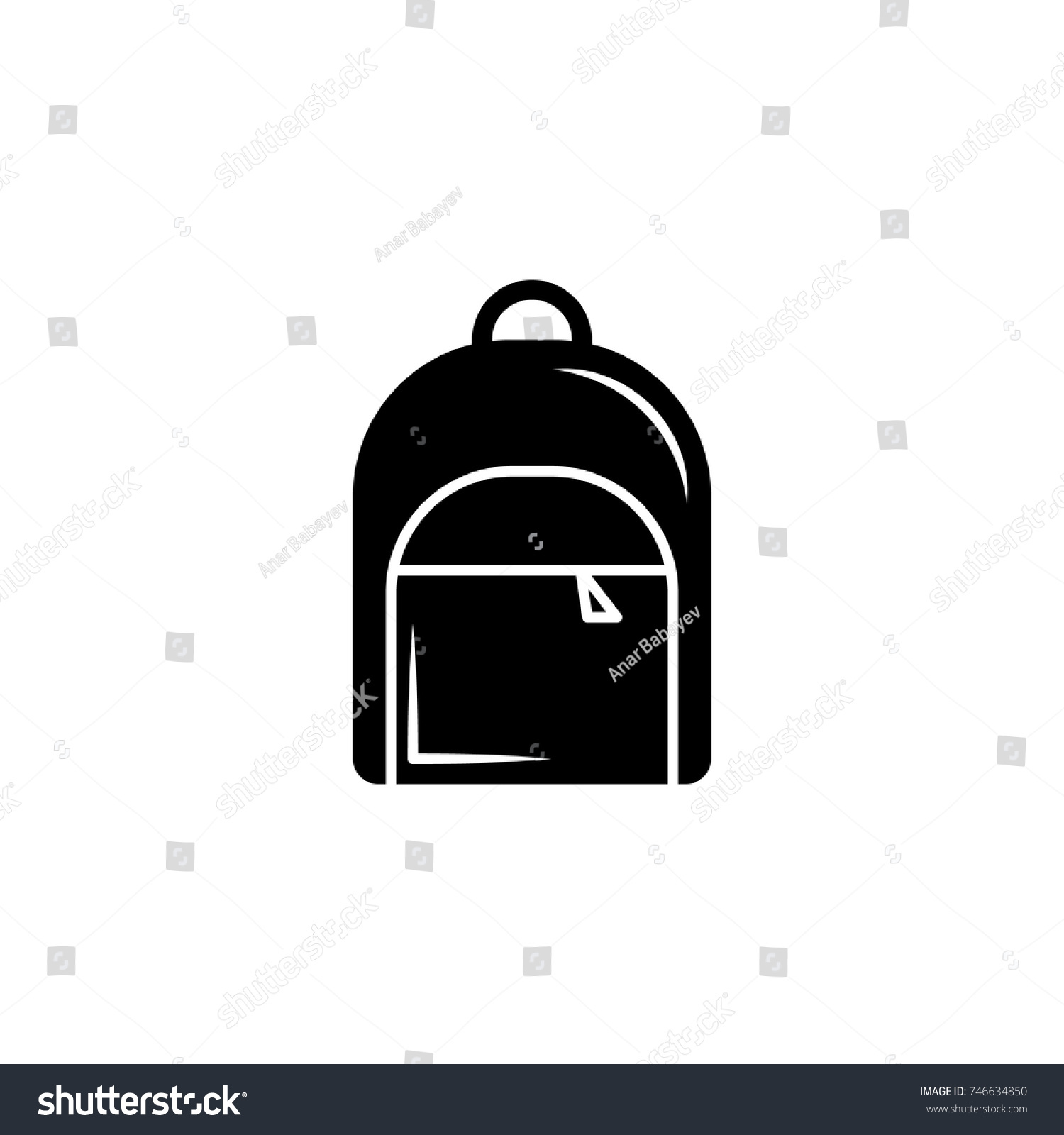 Backpack icon vector graduation icon education stock vector backpack icon vector graduation icon education academic degree premium quality graphic design buycottarizona