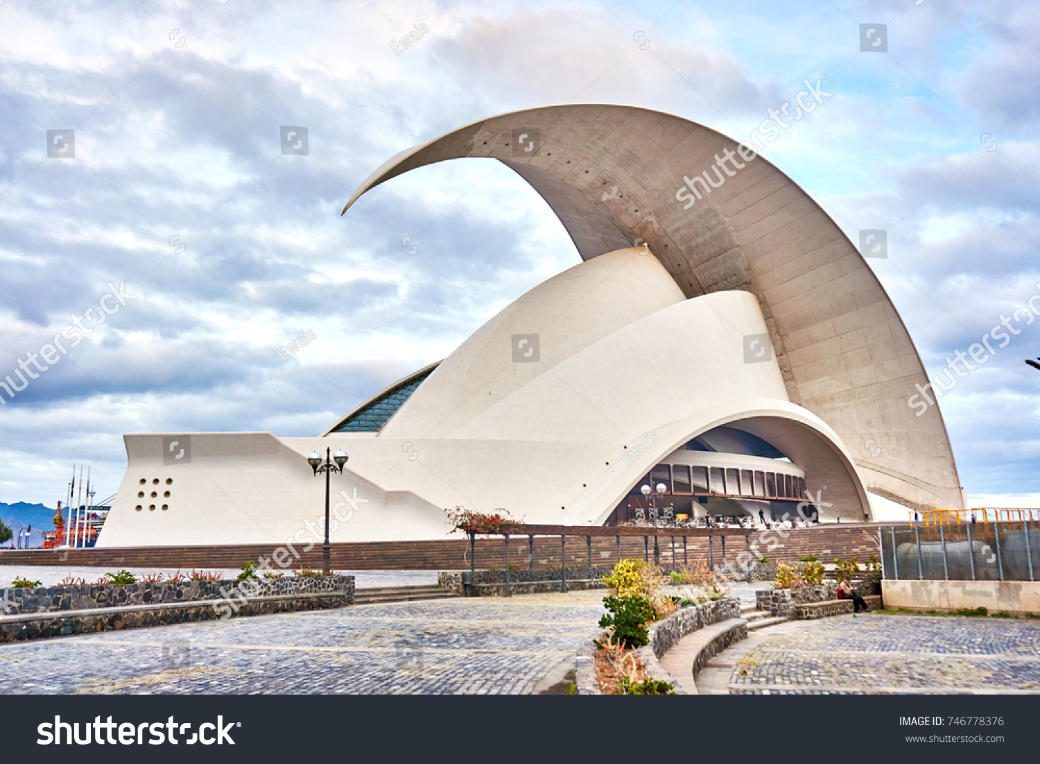 Santa Cruz de Tenerife,Spain-January 2017:Santa Cruz de Tenerife,Auditorio #746778376