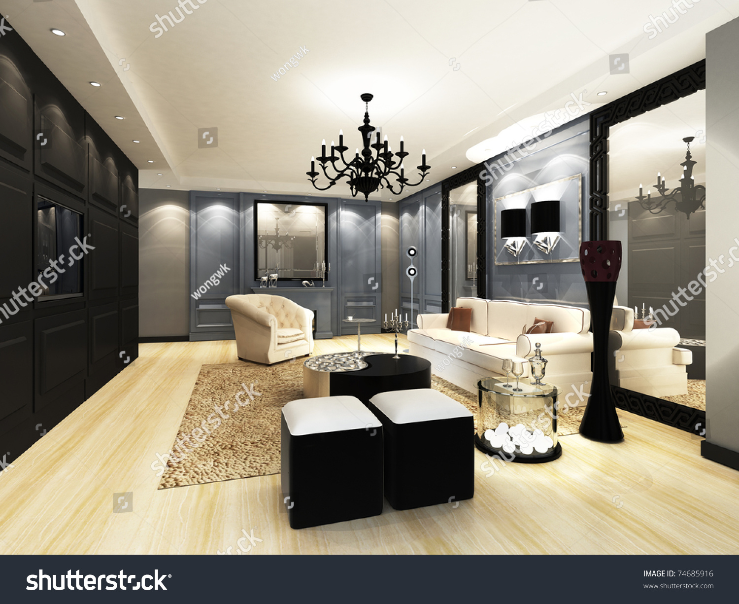 elegant living rooms. Elegant Living room Room Stock Illustration 74685916  Shutterstock