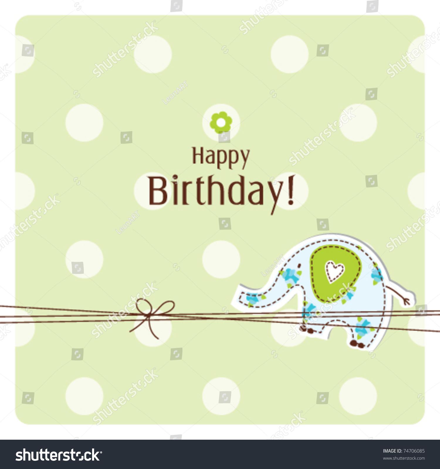 Doc425425 Birthday Greetings Template Happy birthday card – Birthday Greetings Template