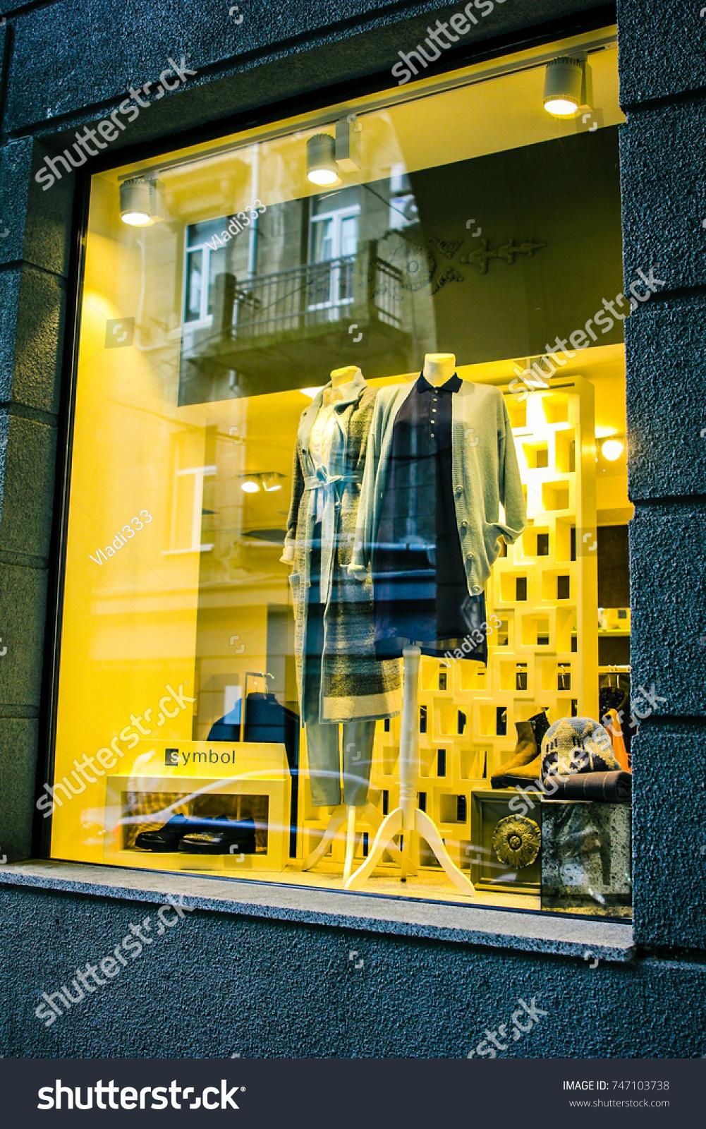 Kiev Ukraine September 10 2017 Mannequins Stock Photo Edit Now Machine Circuit Board Buy Boardwelding In Burberry Clothes Store